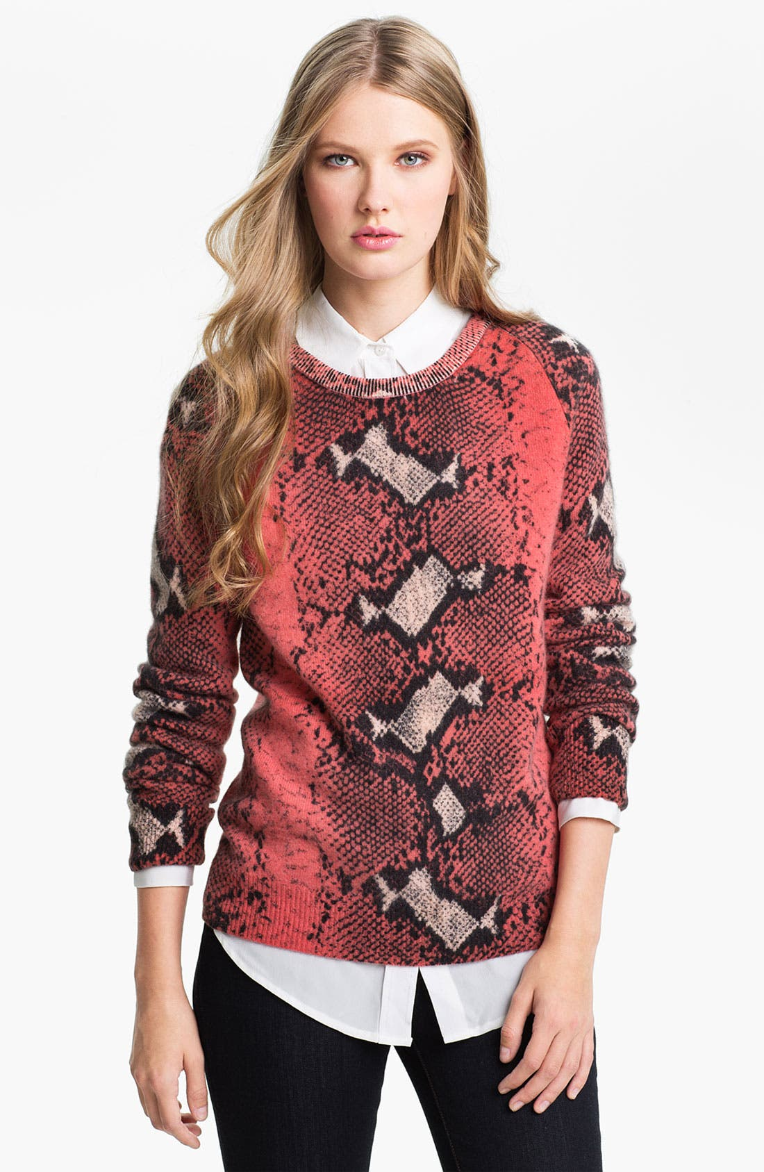 Alternate Image 1 Selected - Equipment 'Sloan' Crewneck Cashmere Sweater