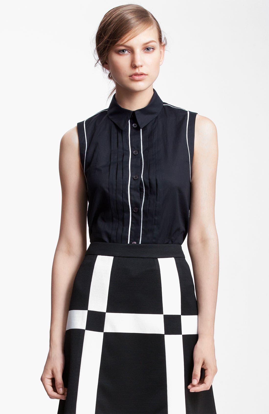Alternate Image 1 Selected - Marni Edition Sleeveless Muslin Shirt