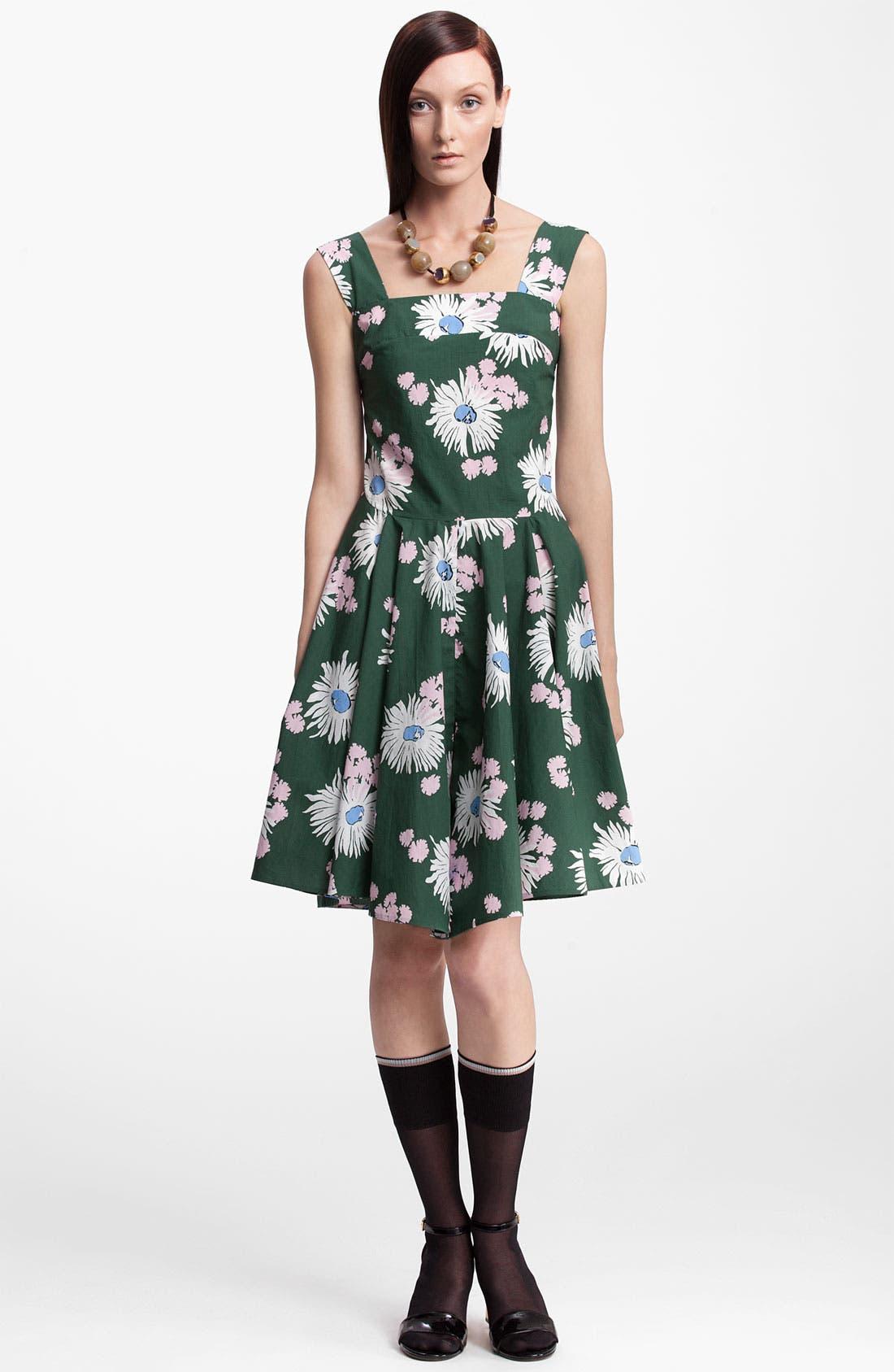 Alternate Image 1 Selected - Marni Floral Print Dress