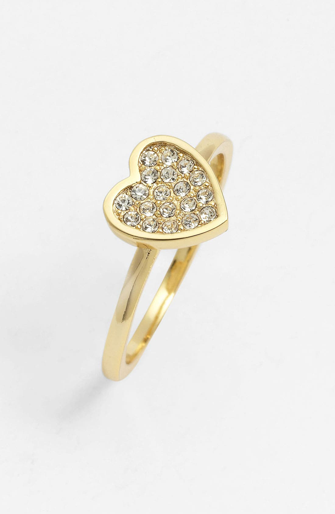 Main Image - Ariella Collection Pavé Heart Ring