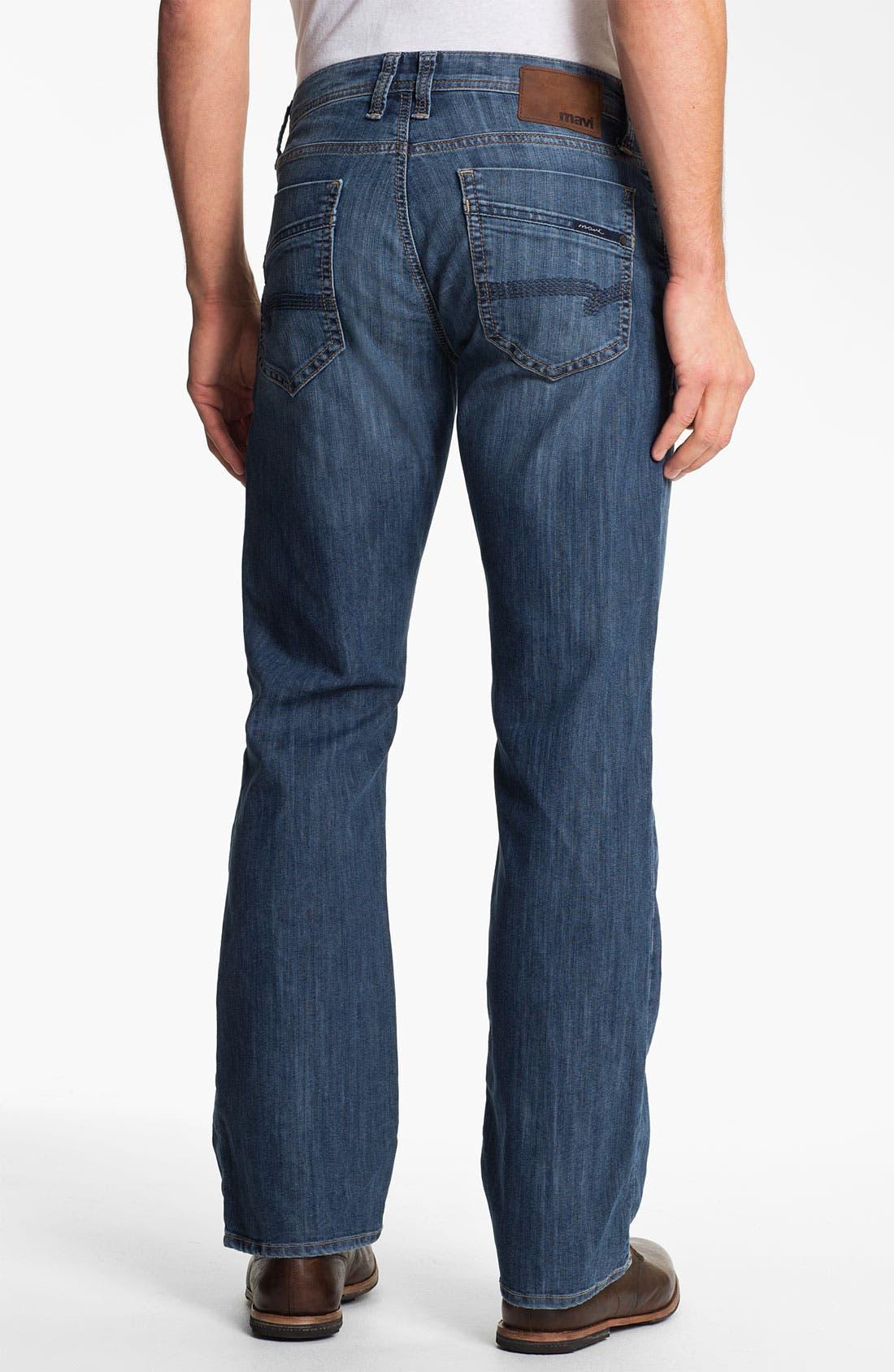 Main Image - Mavi Jeans 'Josh' Bootcut Jeans (Mid Blue Eastwood)