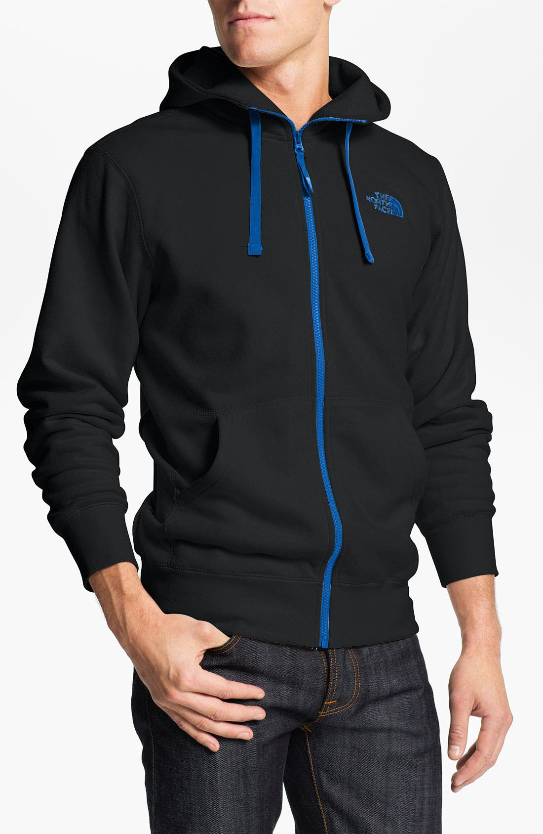 Alternate Image 1 Selected - The North Face 'Rearview' Full Zip Hoodie