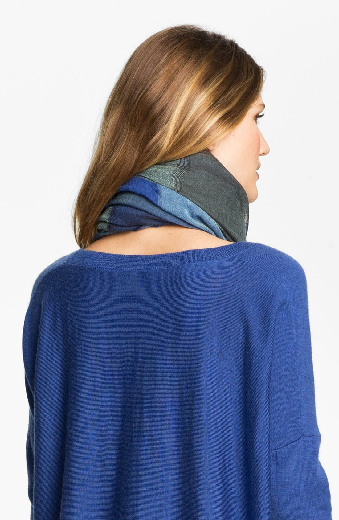 Alternate Image 2  - Eileen Fisher Fringed Wool Scarf