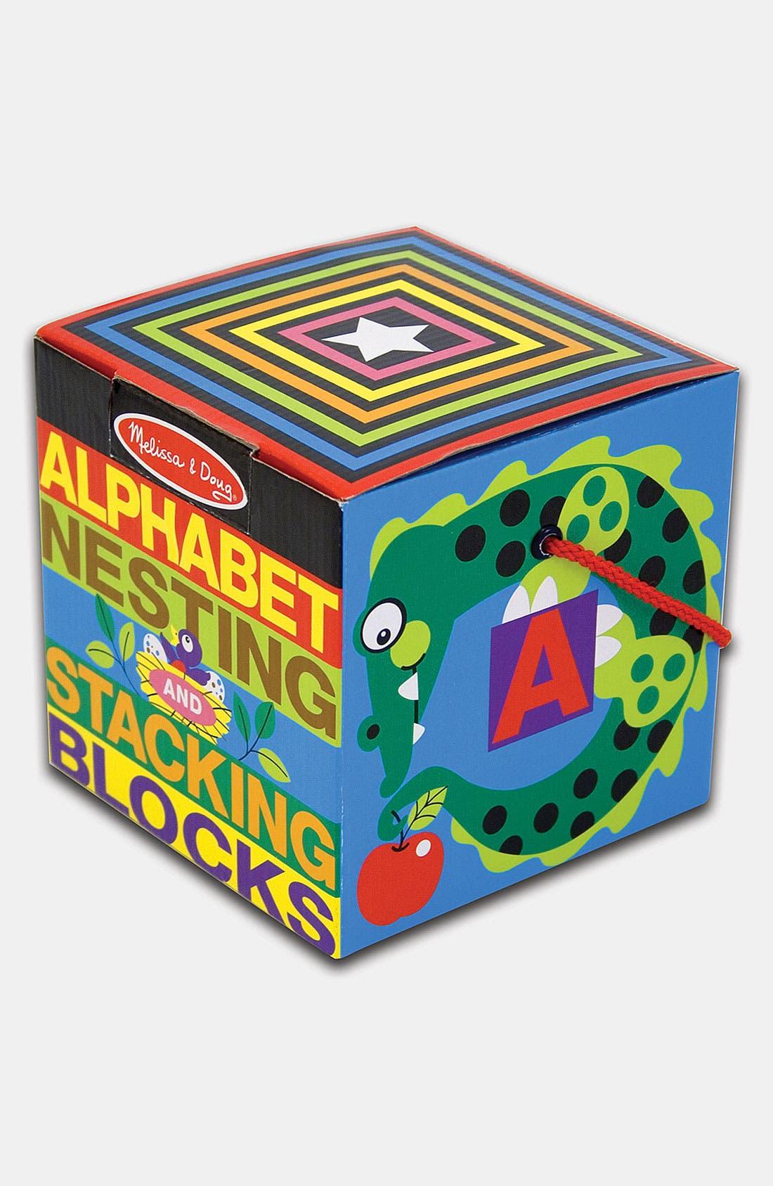 Alternate Image 1 Selected - Melissa & Doug Alphabet Nesting Blocks