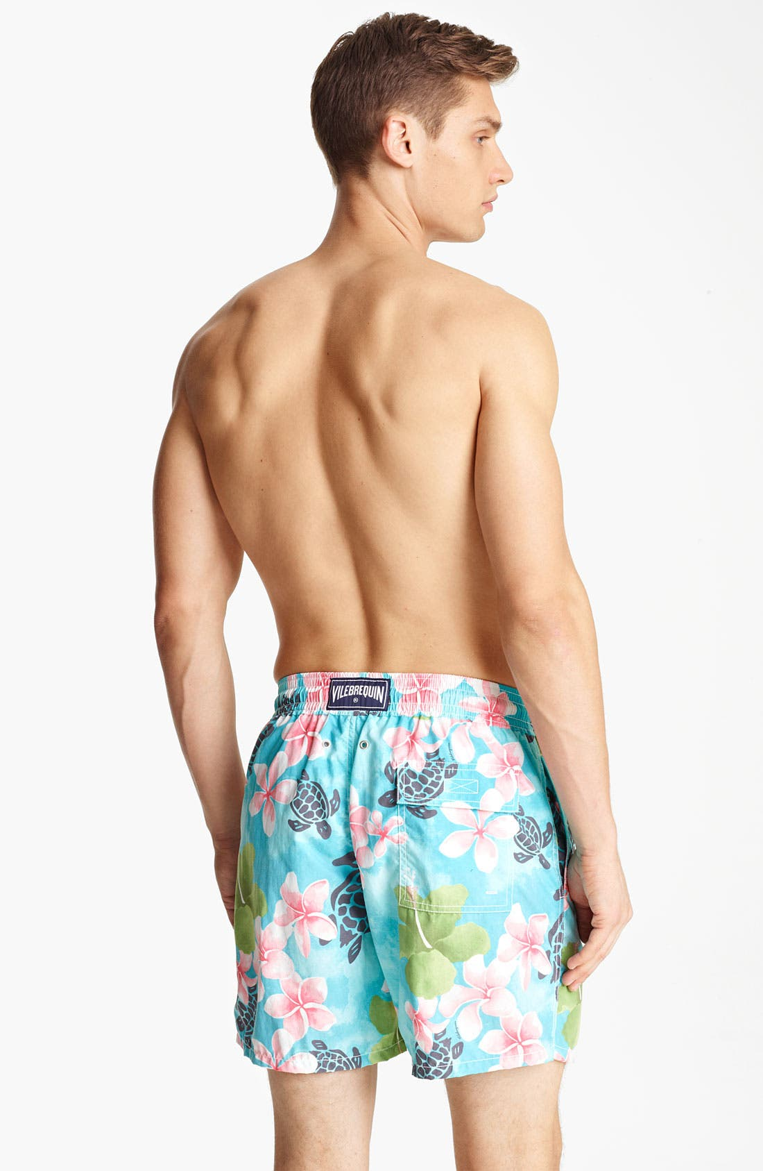 Alternate Image 2  - Vilebrequin 'Moorea' Print Swim Trunks