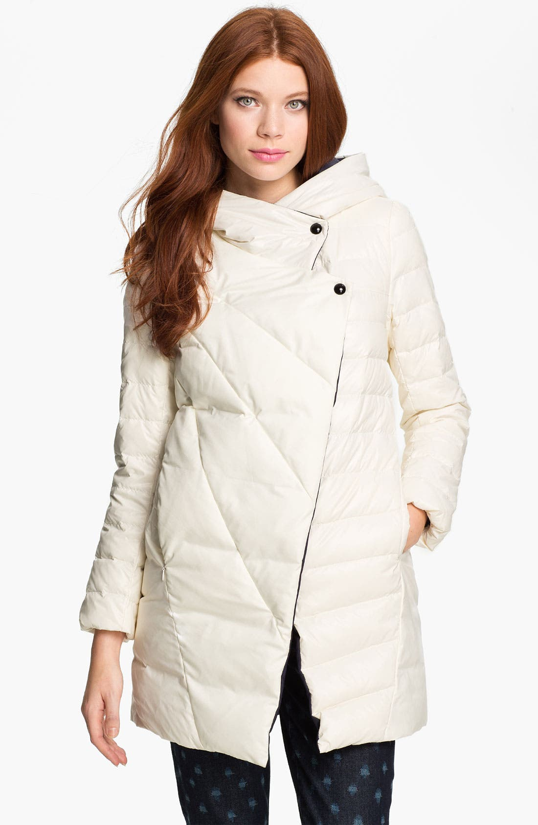 Alternate Image 1 Selected - Metro Hooded Down Coat