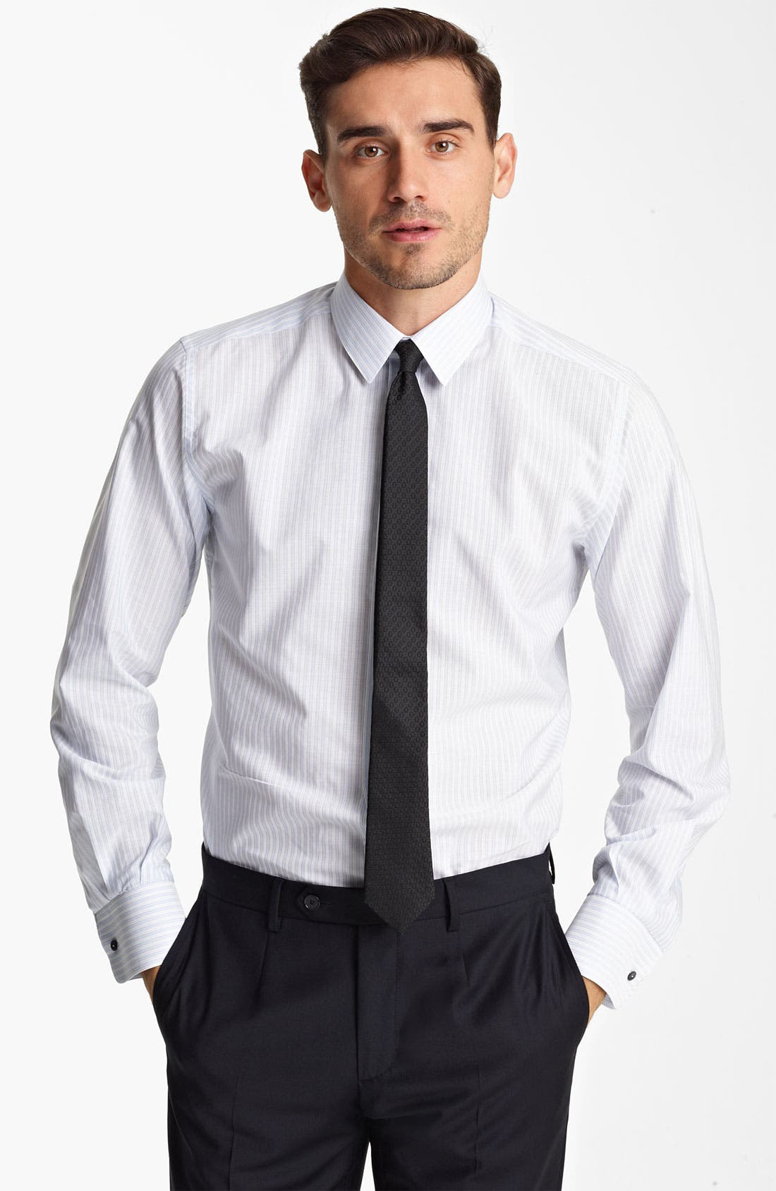 Main Image - Dolce&Gabbana Stripe Dress Shirt