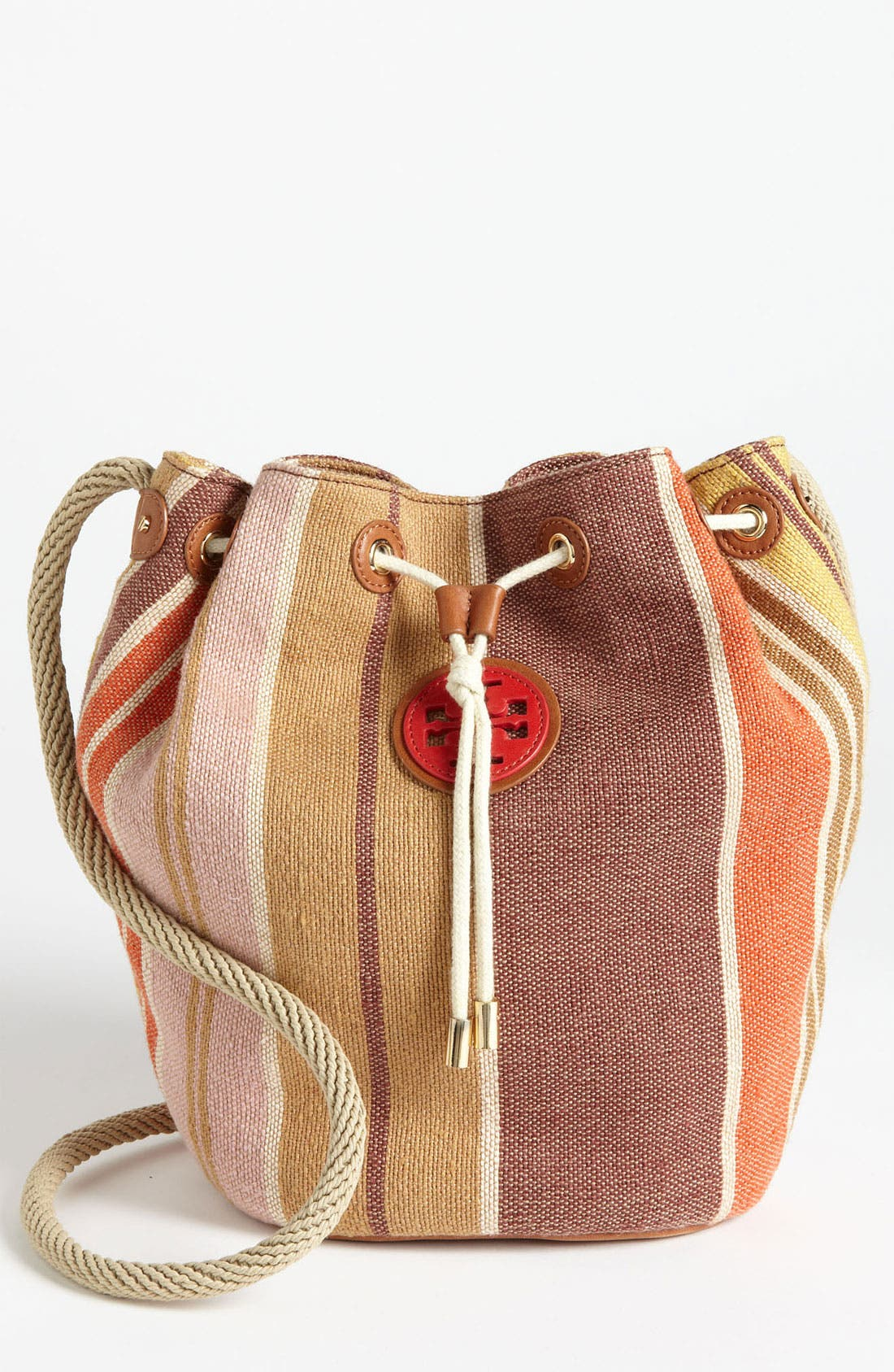Main Image - Tory Burch 'Baja' Drawstring Crossbody Bag