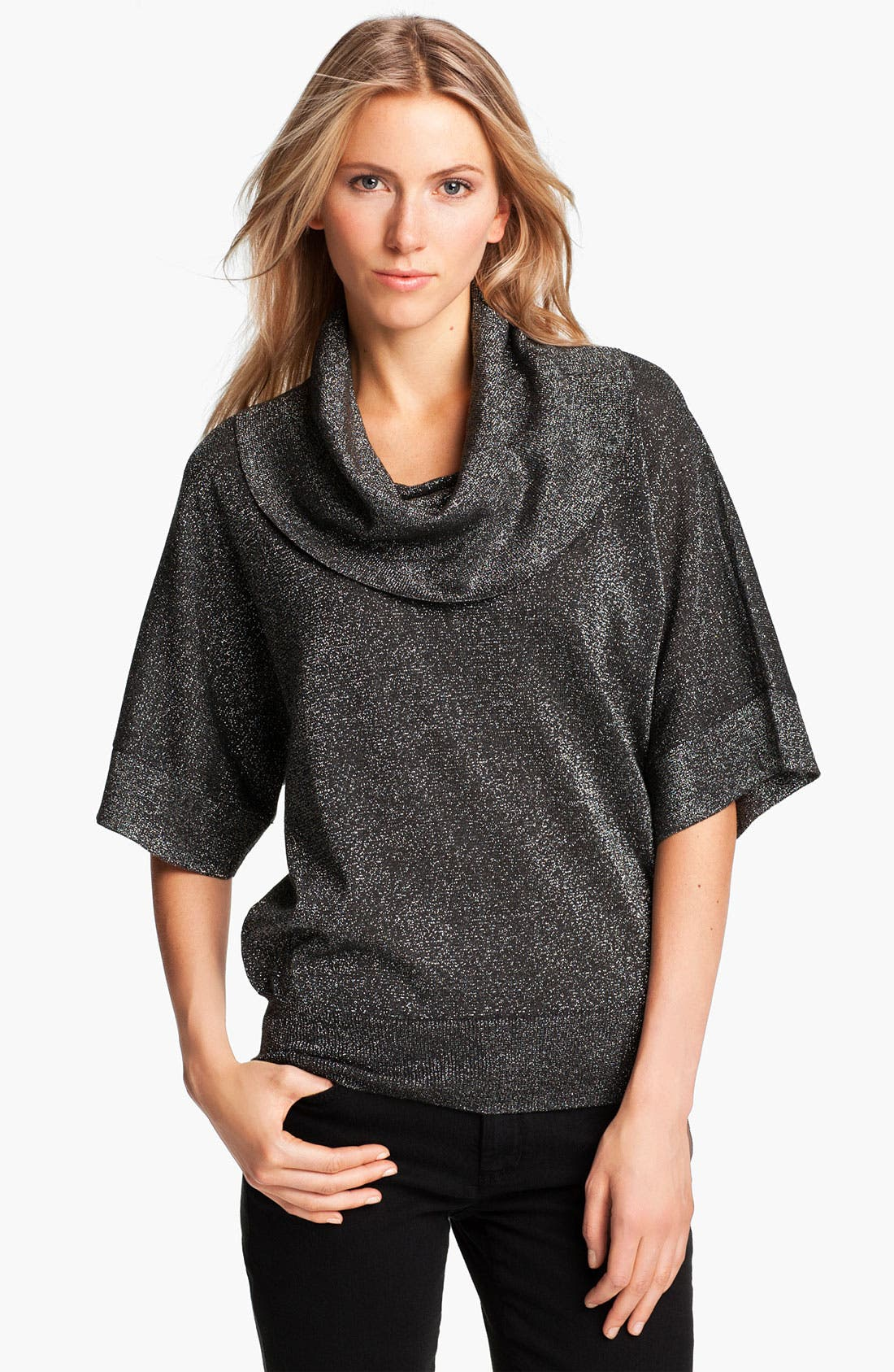 Main Image - MICHAEL Michael Kors Metallic Knit Sweater