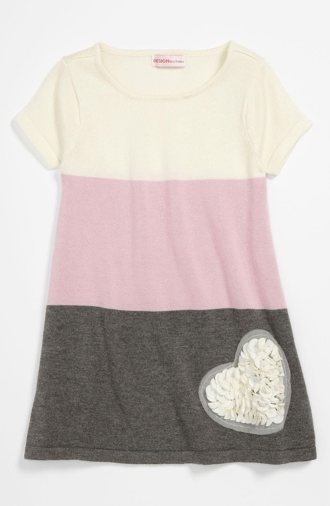 Alternate Image 1 Selected - Design History Sweater Dress (Toddler)