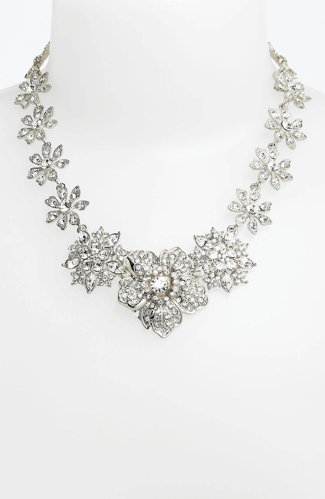 Main Image - Nina Flower Bib Necklace