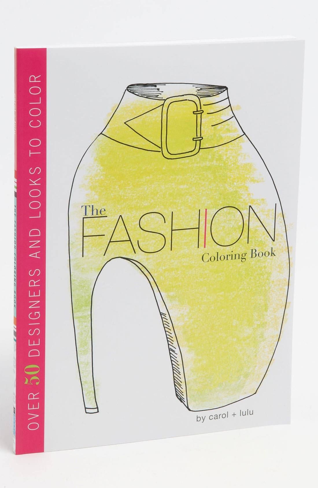 Alternate Image 1 Selected - Carol + Lulu 'The Fashion Coloring Book' (Girls)