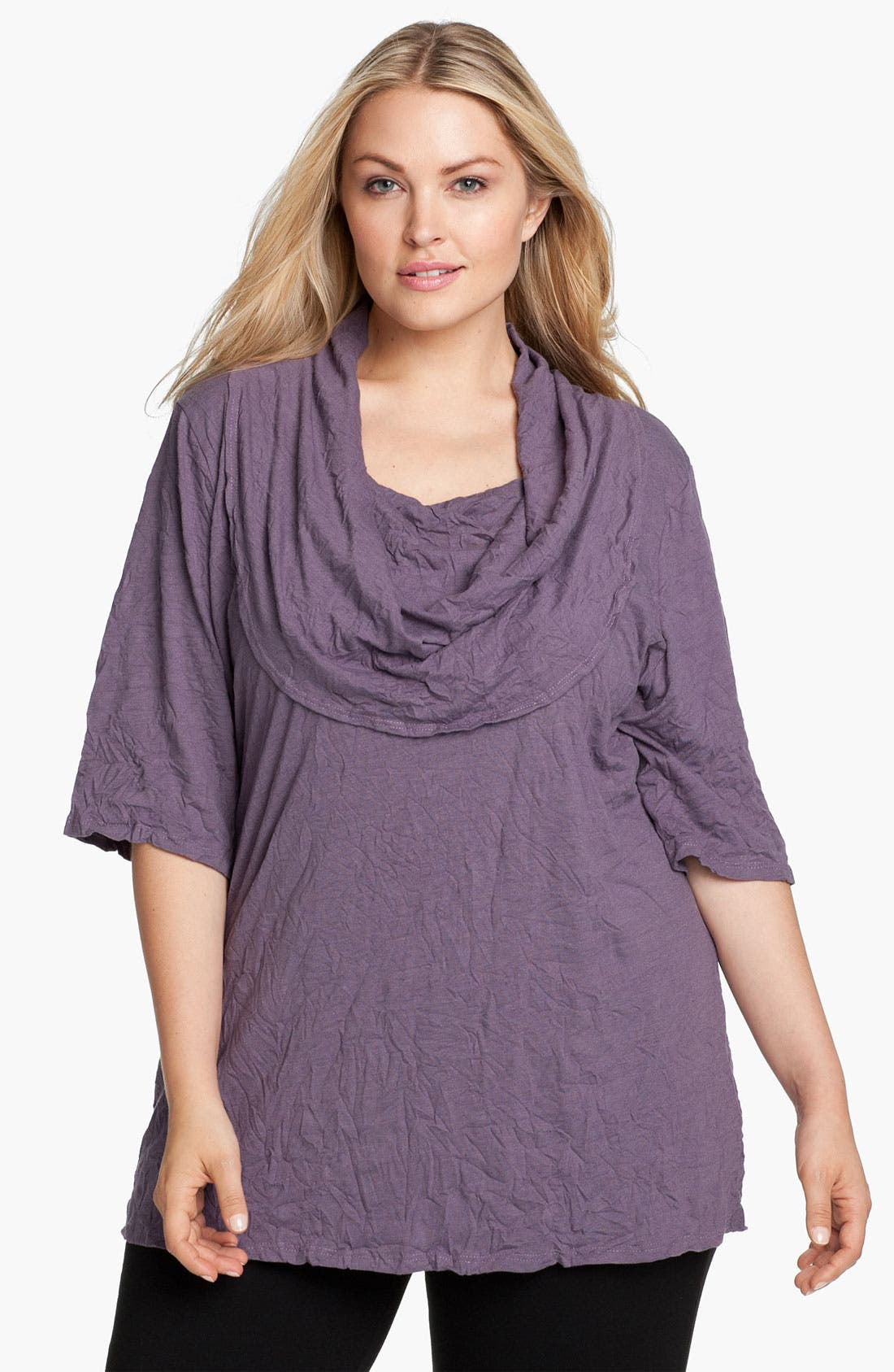 Alternate Image 1 Selected - Chalet 'Ariana' Cowl Neck Top (Plus)