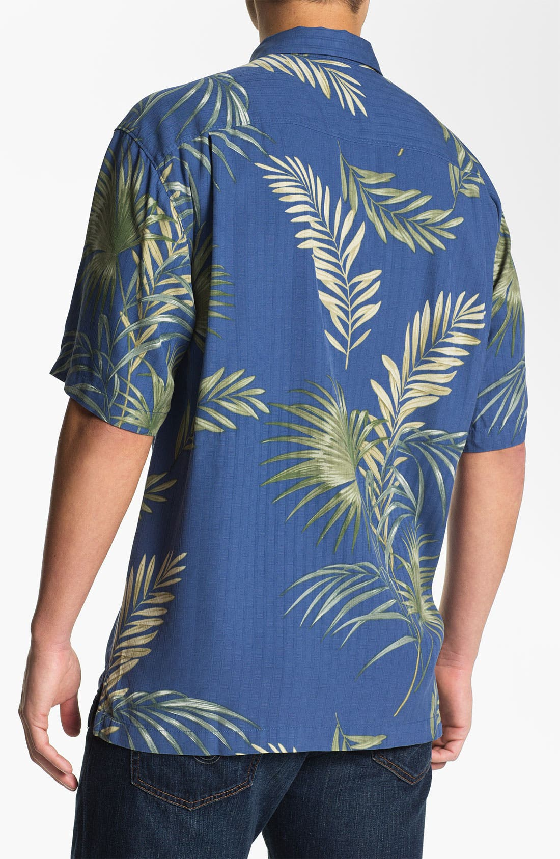 Alternate Image 2  - Tommy Bahama 'Fronds with Benefits' Silk Campshirt