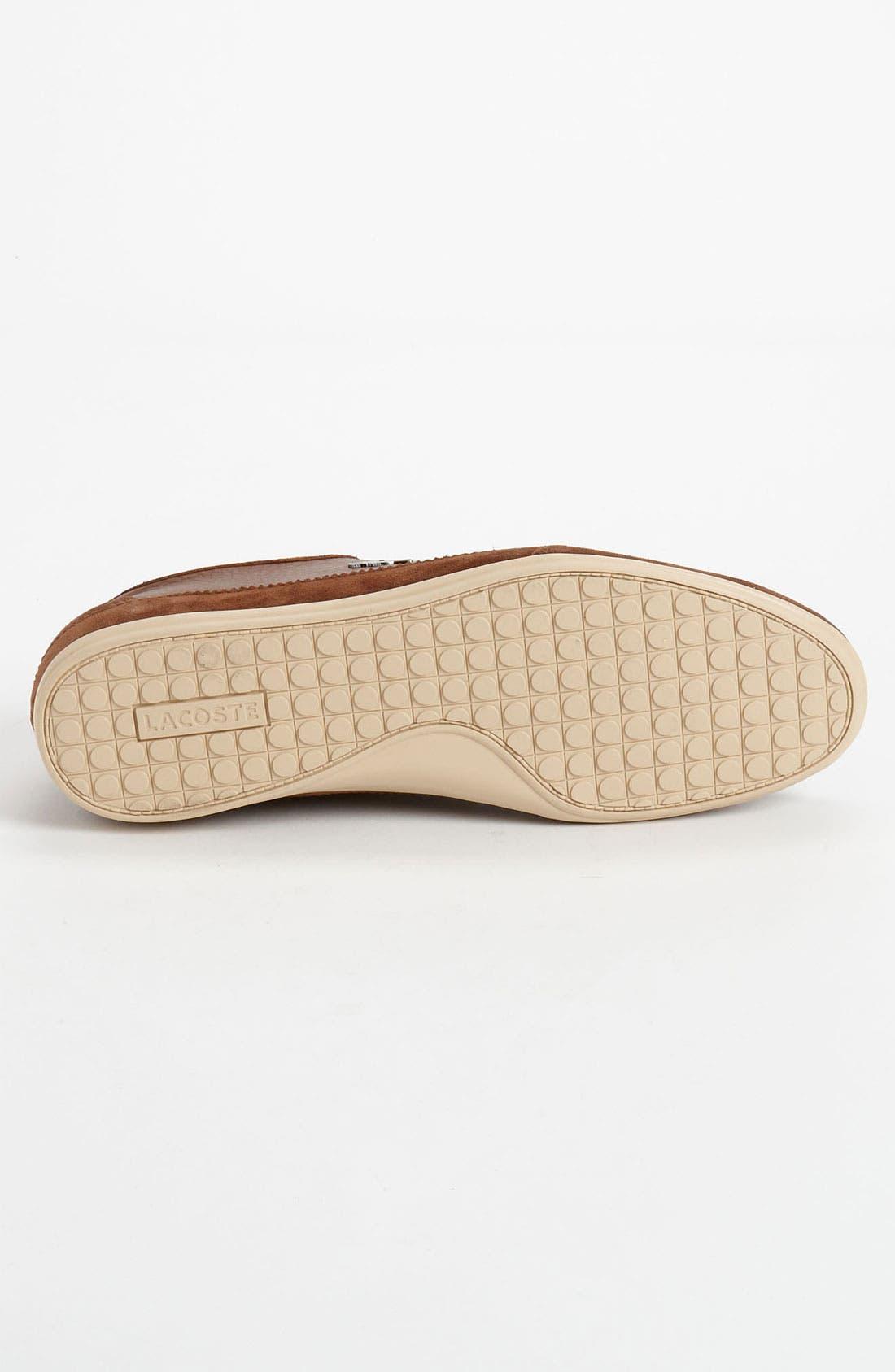 Alternate Image 4  - Lacoste 'Misano 19' Sneaker (Men)