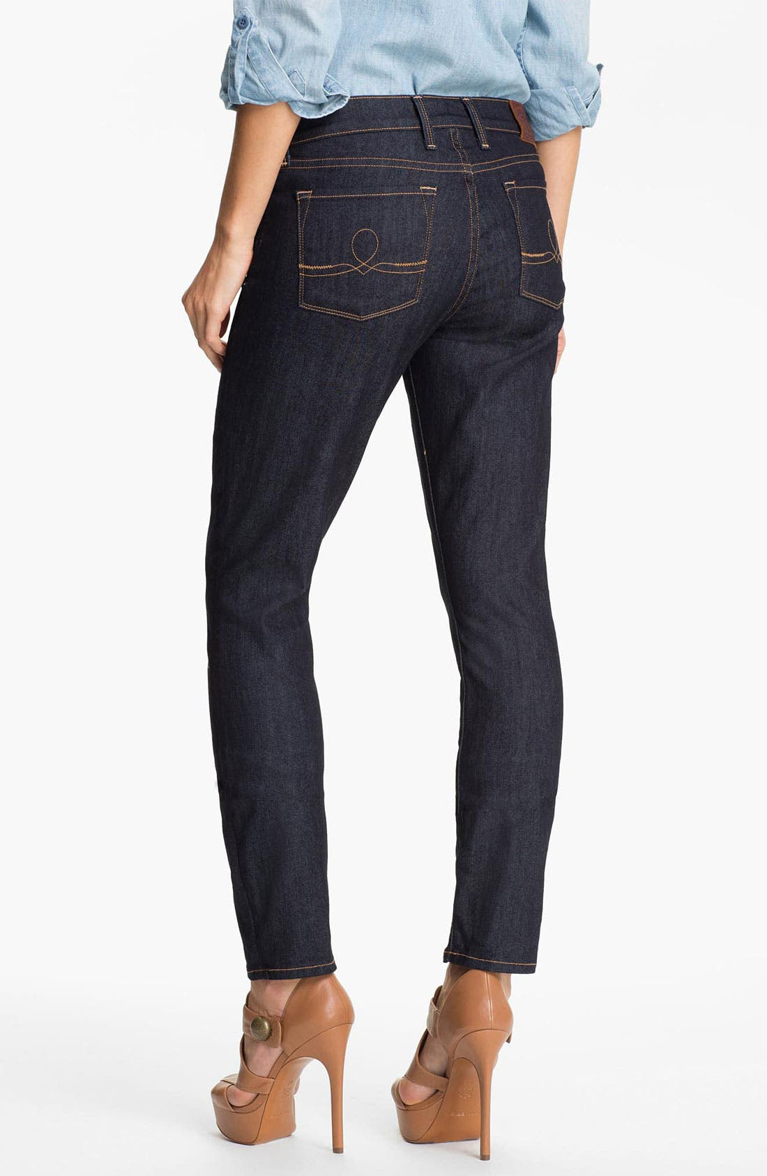 Alternate Image 2  - Lucky Brand 'Sofia'  Skinny Jeans (Resin)