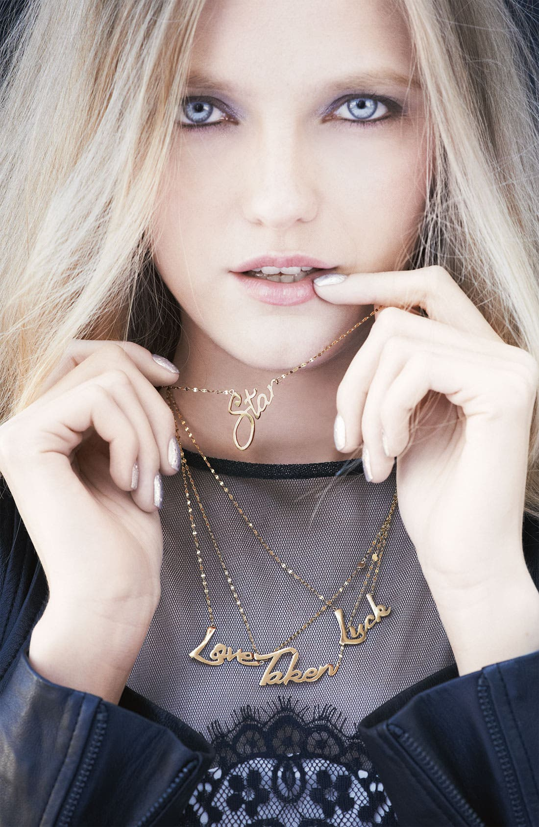 Alternate Image 3  - Lana Jewelry 'Love' Charm Necklace