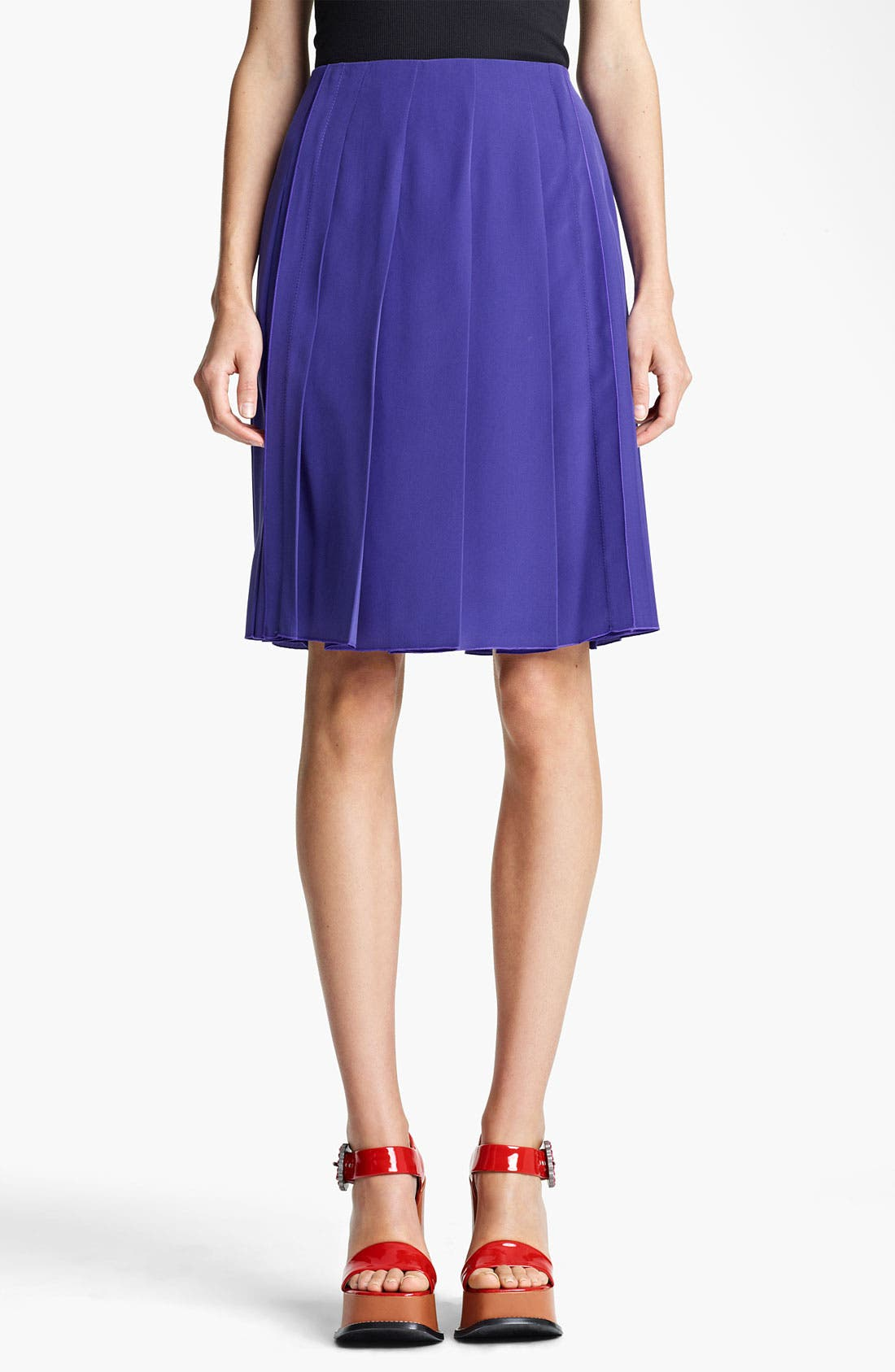 Alternate Image 1 Selected - MARC JACOBS Pleated Skirt