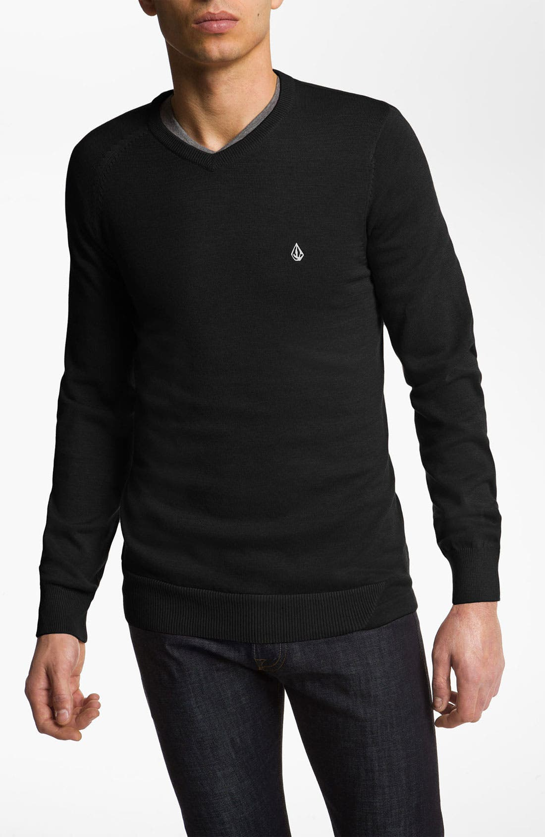 Main Image - Volcom 'Standard' V-Neck Sweater