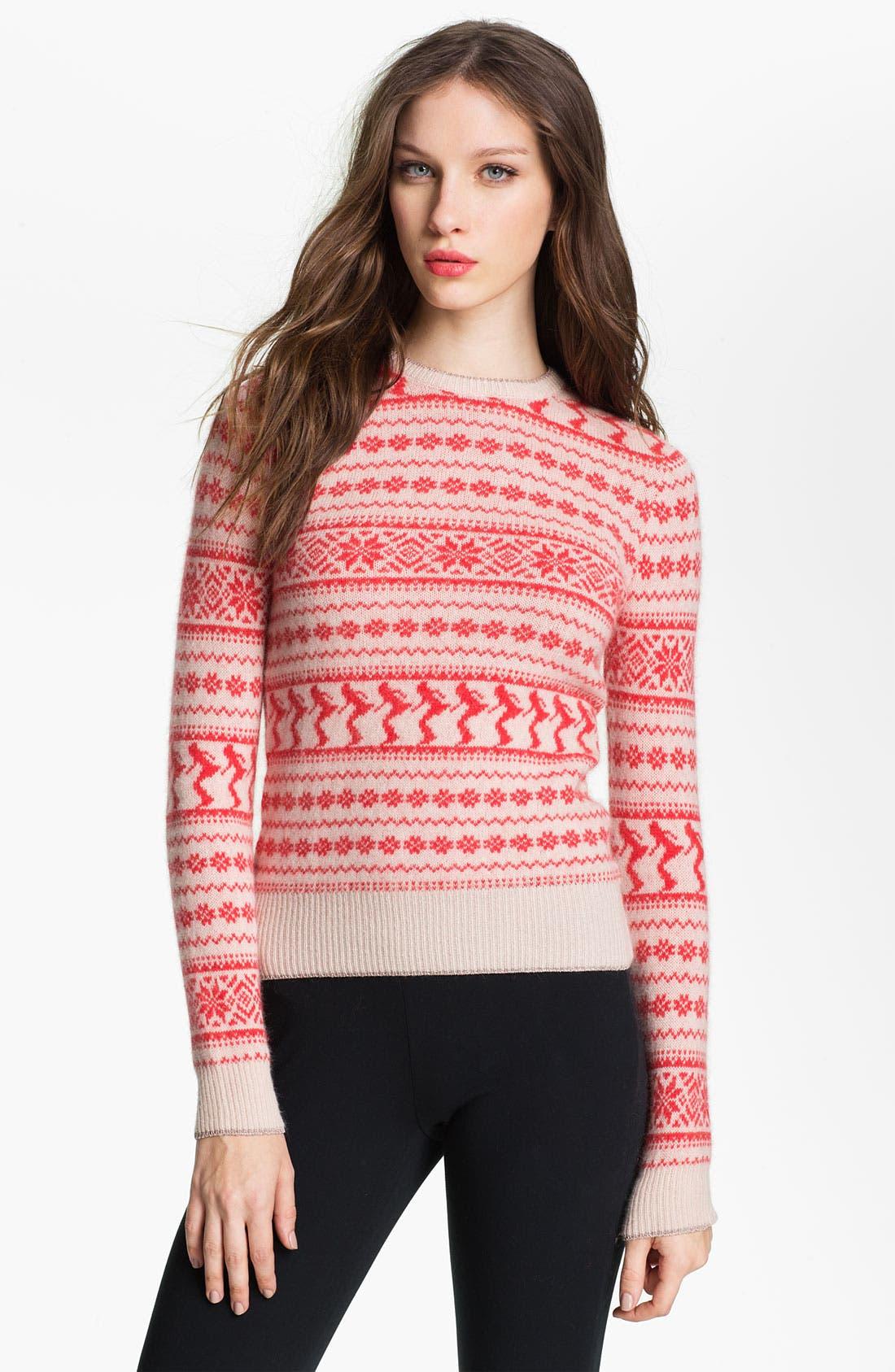 Alternate Image 1 Selected - Ted Baker London 'Dawni' Fair Isle Sweater