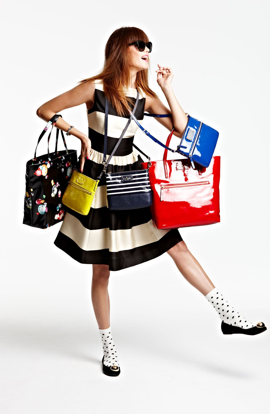 Alternate Image 6  - kate spade new york 'daycation' coated canvas bon shopper