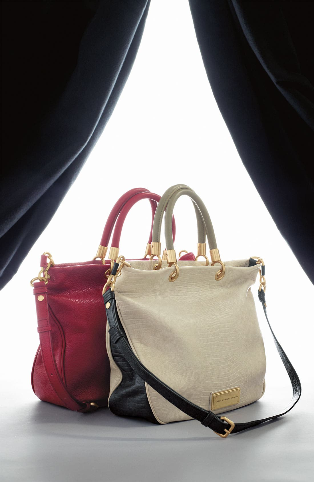 Alternate Image 5  - MARC BY MARC JACOBS 'Too Hot to Handle - Mini' Embossed Colorblock Shopper