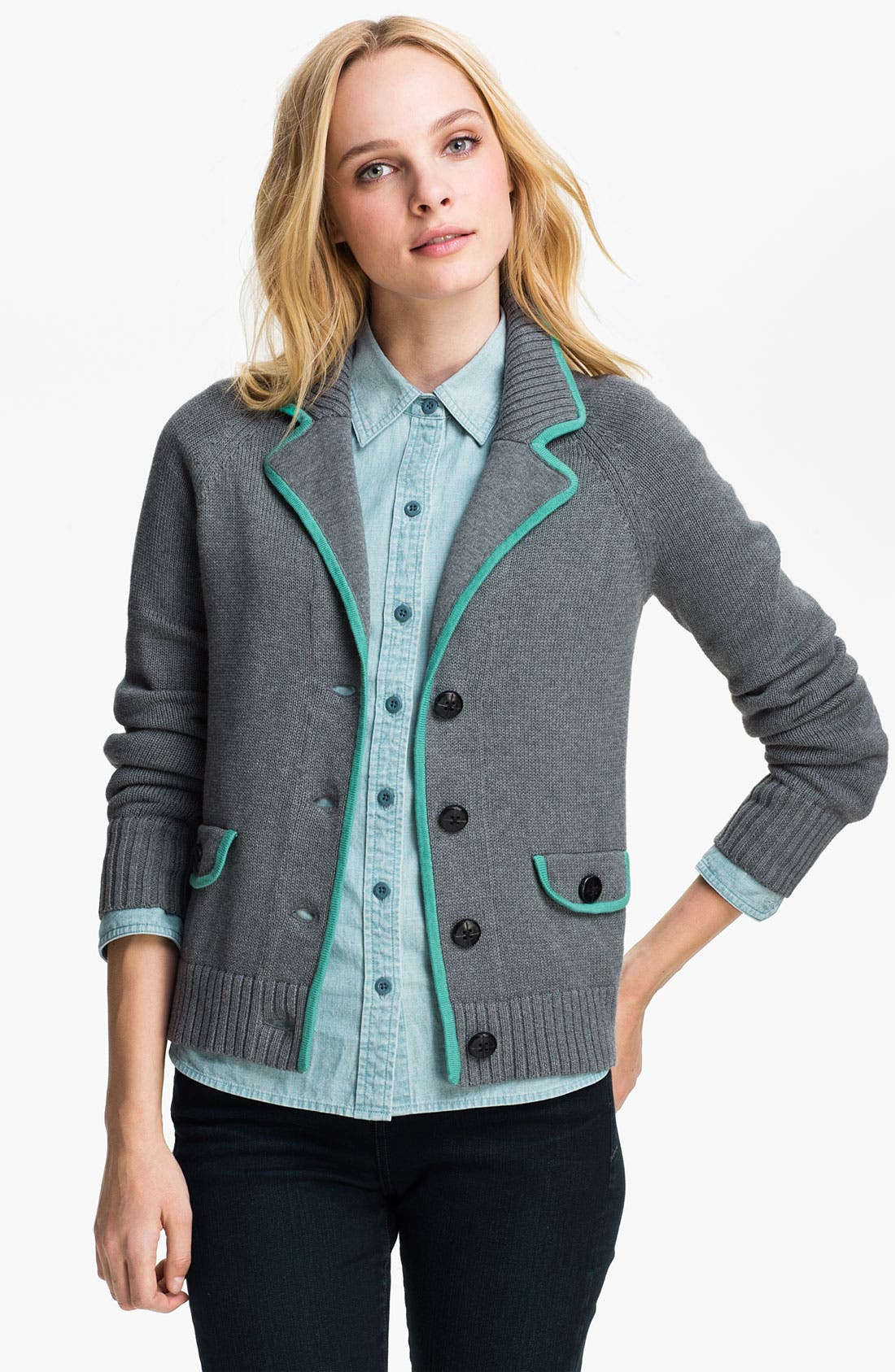 Alternate Image 1 Selected - Caslon® Sweater Jacket