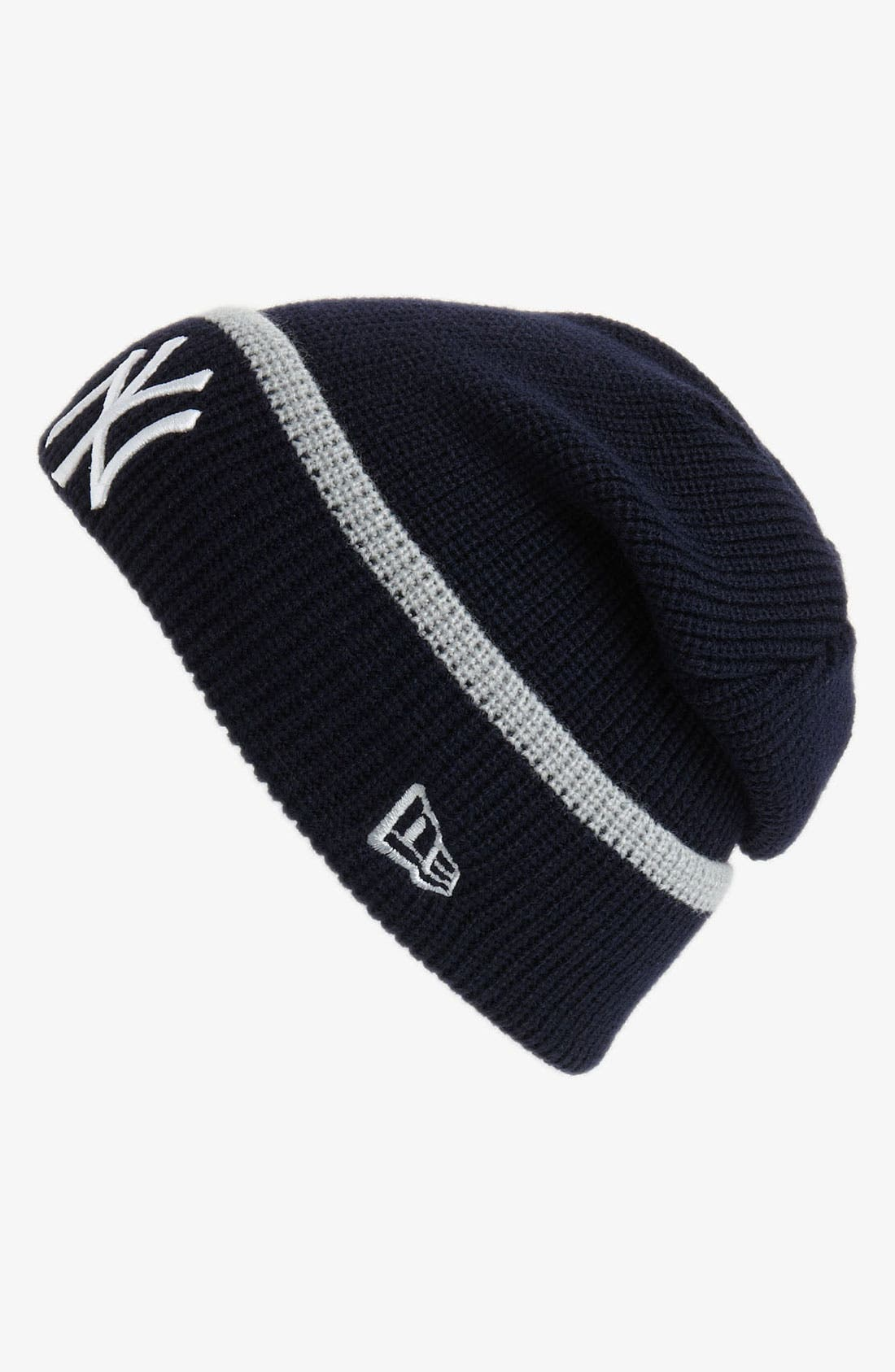 Alternate Image 1 Selected - New Era Cap 'New York Yankees' Pop-Cuff Knit Beanie