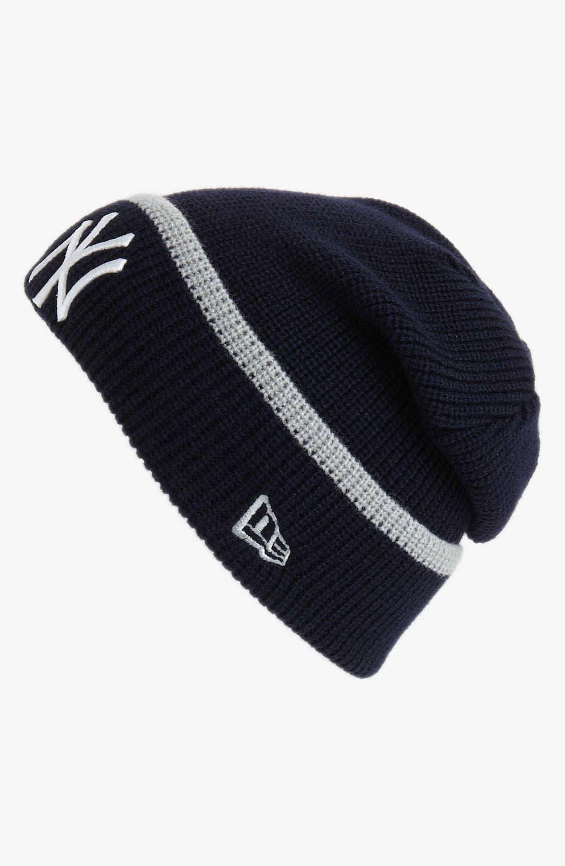 Main Image - New Era Cap 'New York Yankees' Pop-Cuff Knit Beanie