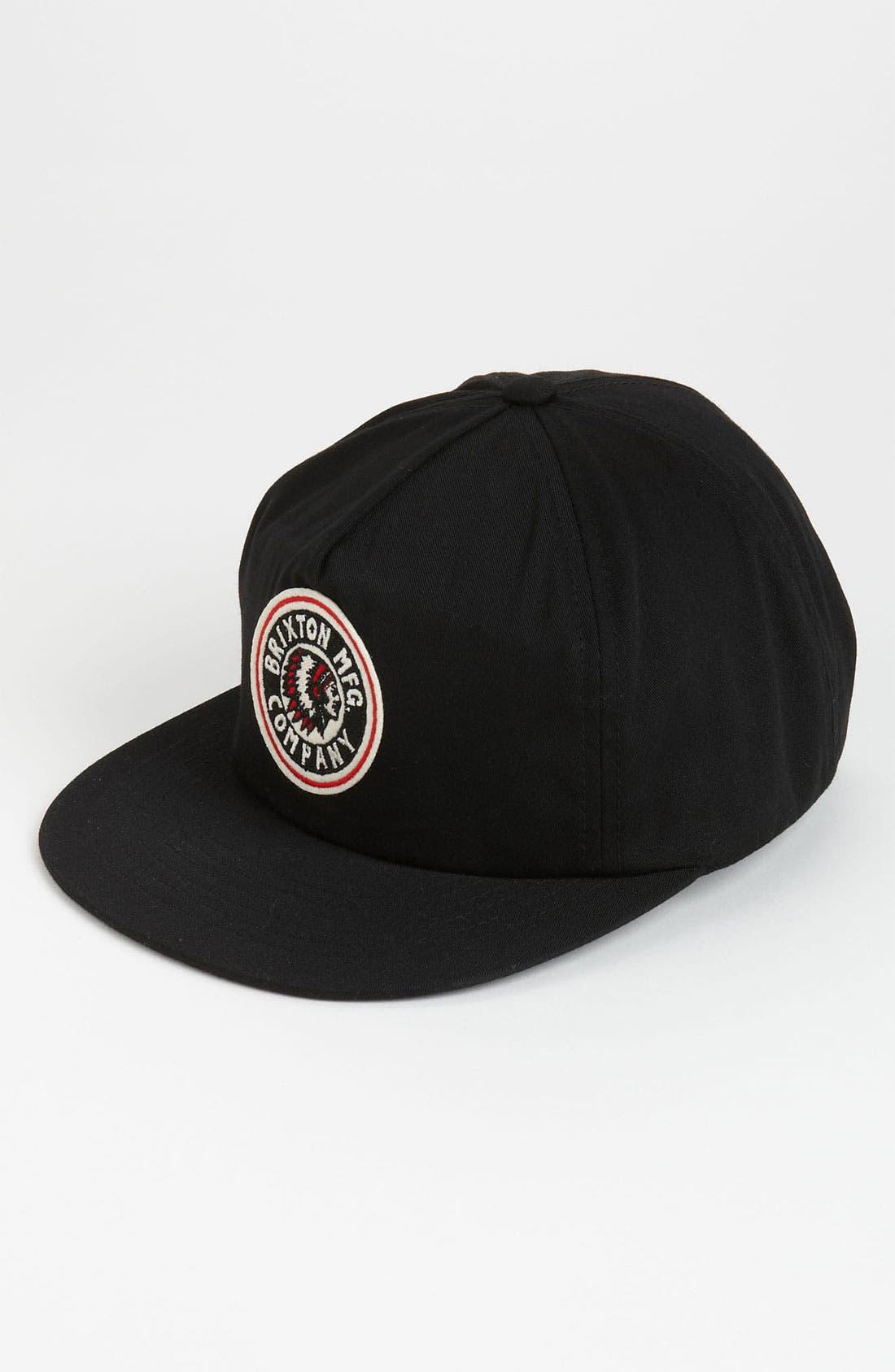 Main Image - Brixton 'Rival' Baseball Cap
