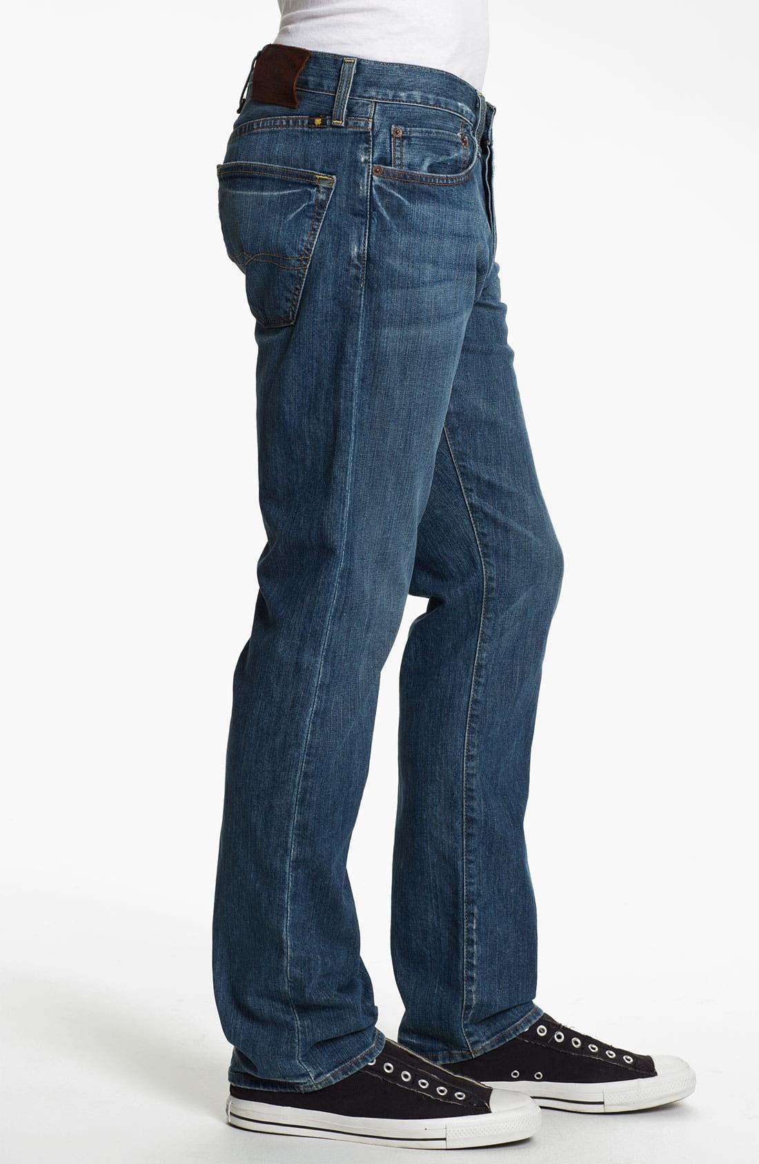 Alternate Image 3  - Lucky Brand '121 Heritage' Slim Straight Leg Jeans (Ol' Vicksburg)