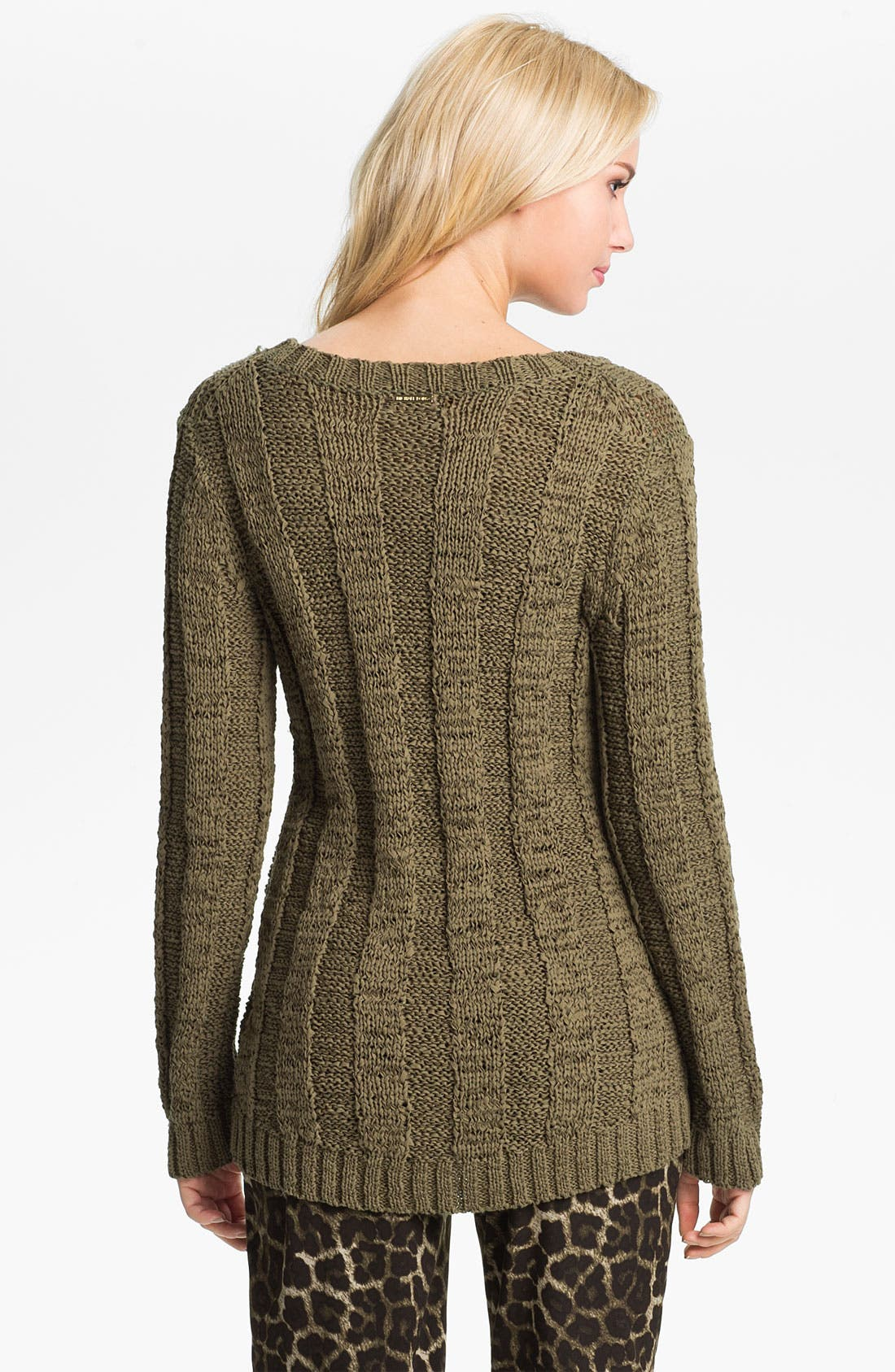 Alternate Image 2  - MICHAEL Michael Kors Tape Yarn Pullover Sweater
