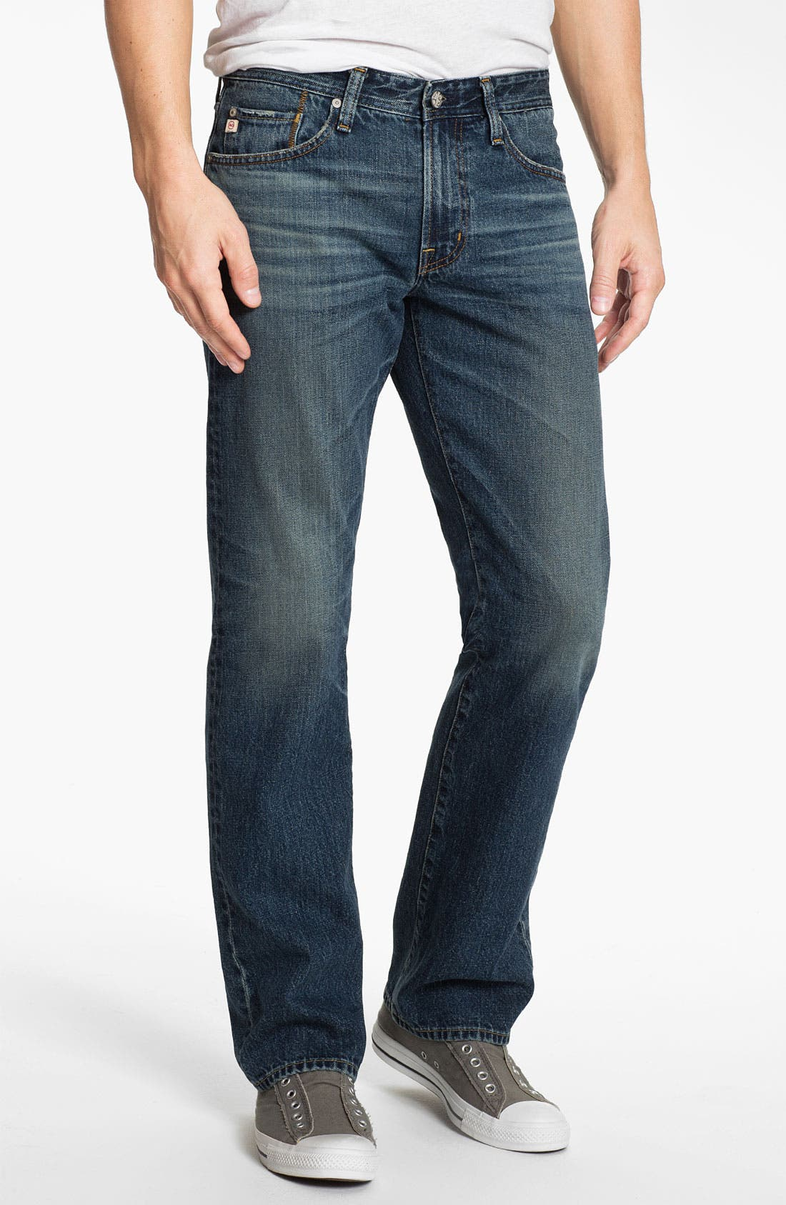 Alternate Image 1 Selected - AG Jeans 'Protégé' Straight Leg Jeans (12-Years Original)