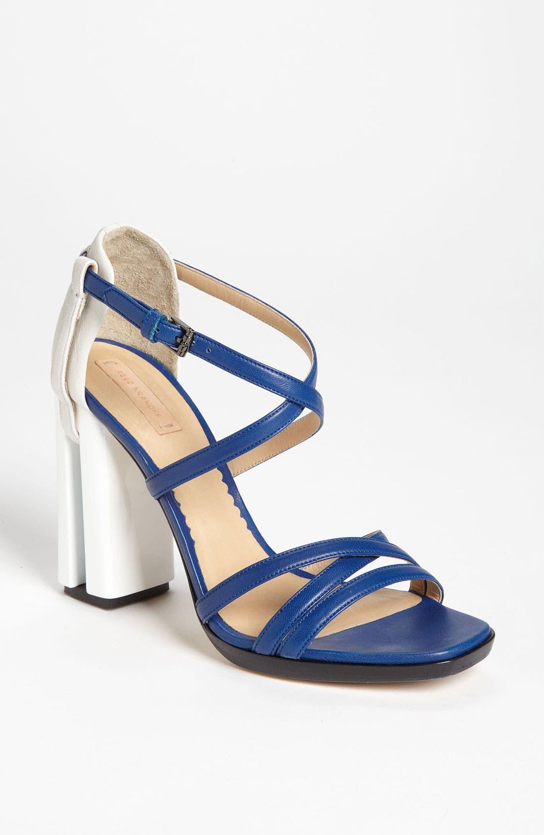 Alternate Image 1 Selected - Reed Krakoff Cutout Heel Sandal