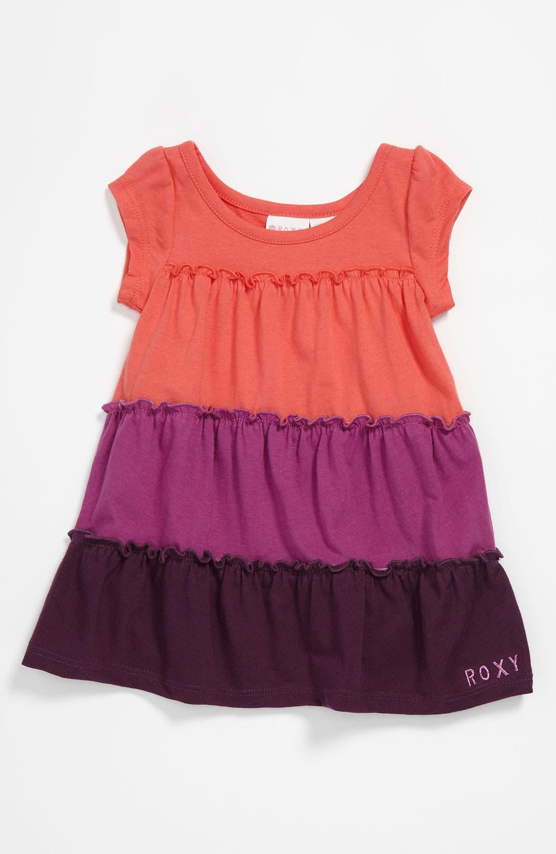 Alternate Image 1 Selected - 'Cider' Colorblock Dress (Toddler)