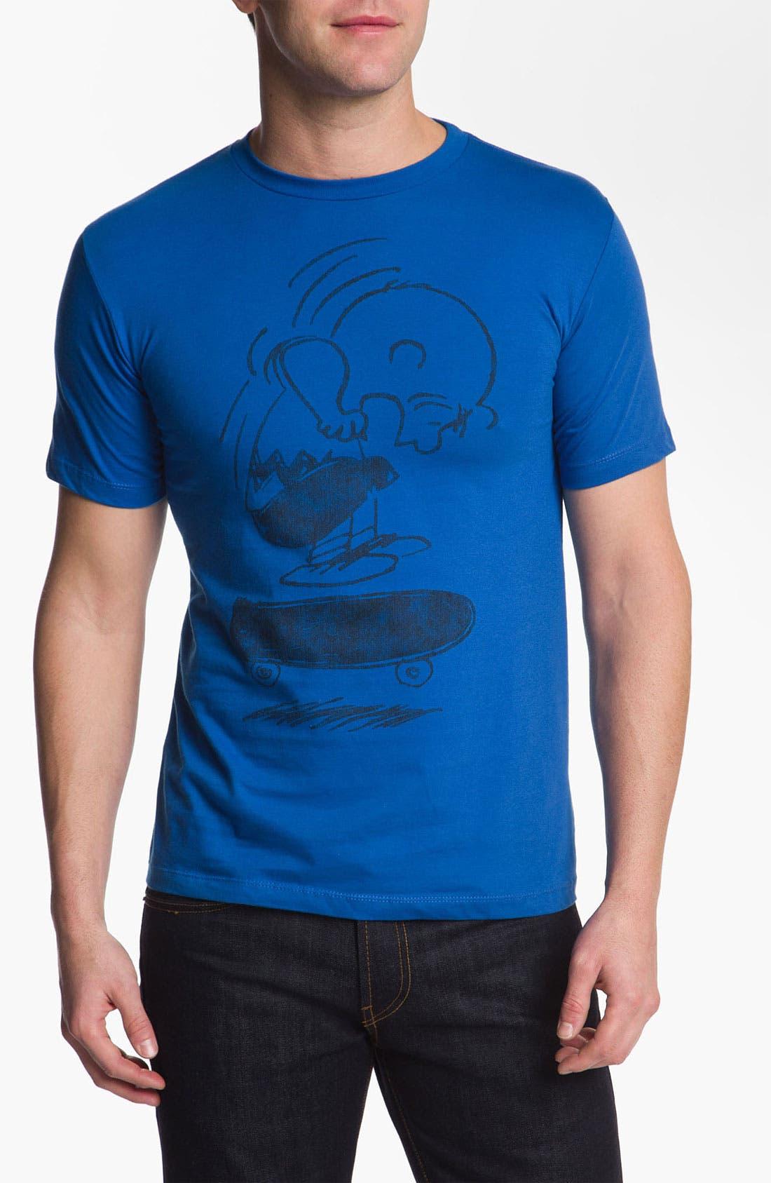 Alternate Image 1 Selected - Topless 'Charlie Kick Flip' T-Shirt