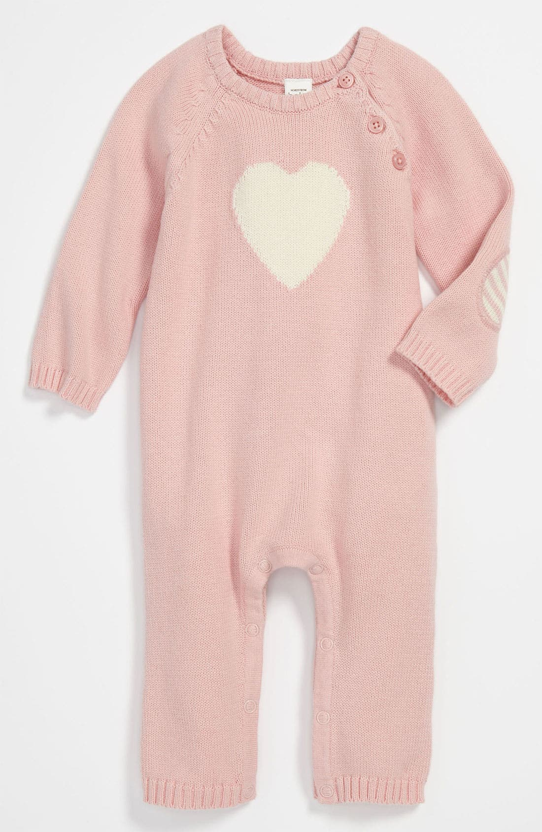Alternate Image 1 Selected - Nordstrom Baby Sweater Knit Coveralls (Infant)