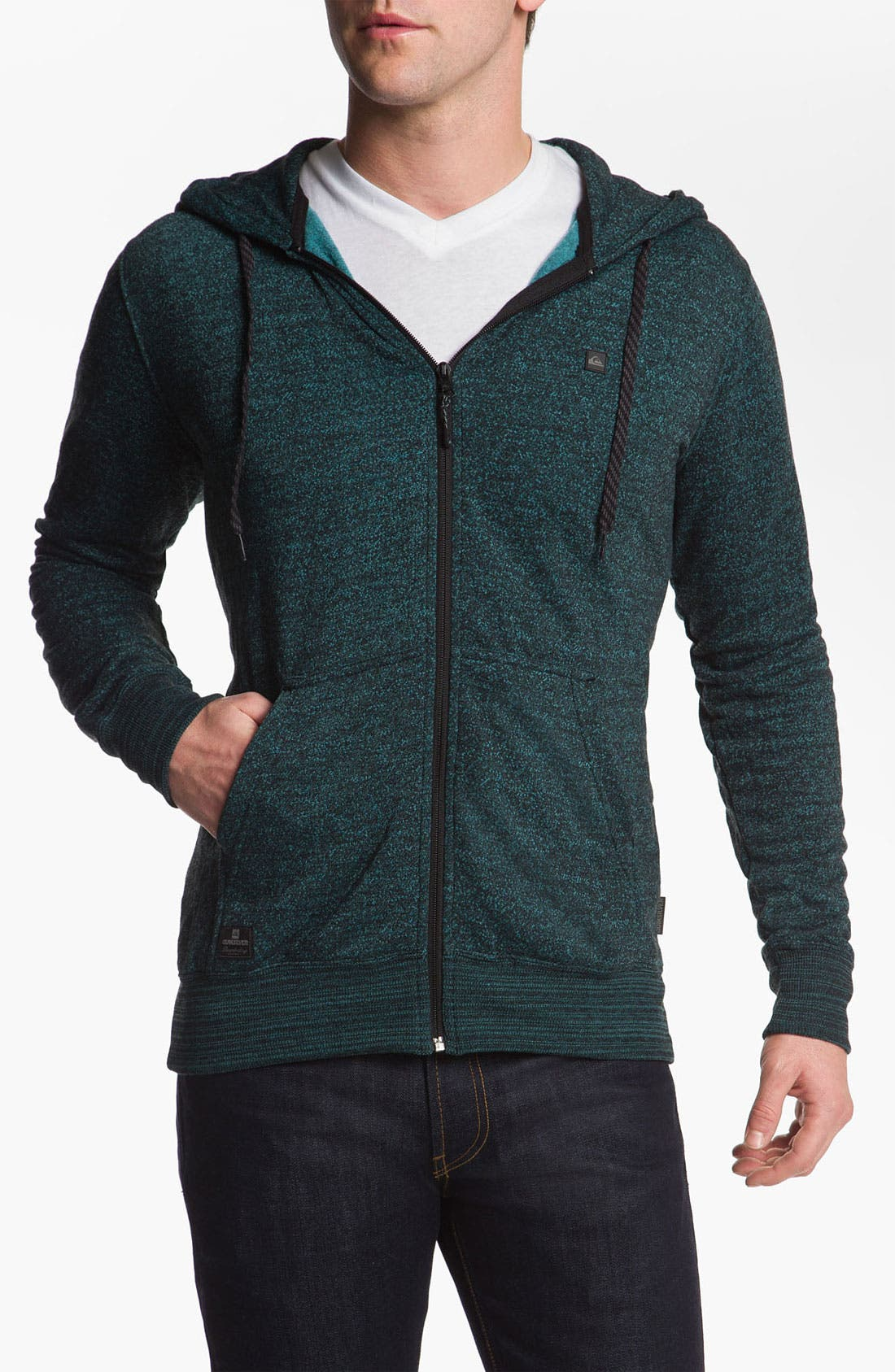 Alternate Image 1 Selected - Quiksilver 'Hydro' Zip Hoodie