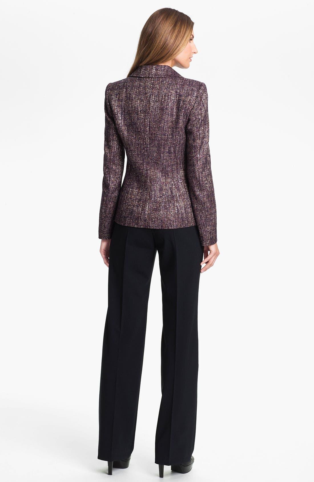 Alternate Image 4  - Santorelli 'Gina' Straight Leg Wool Trousers