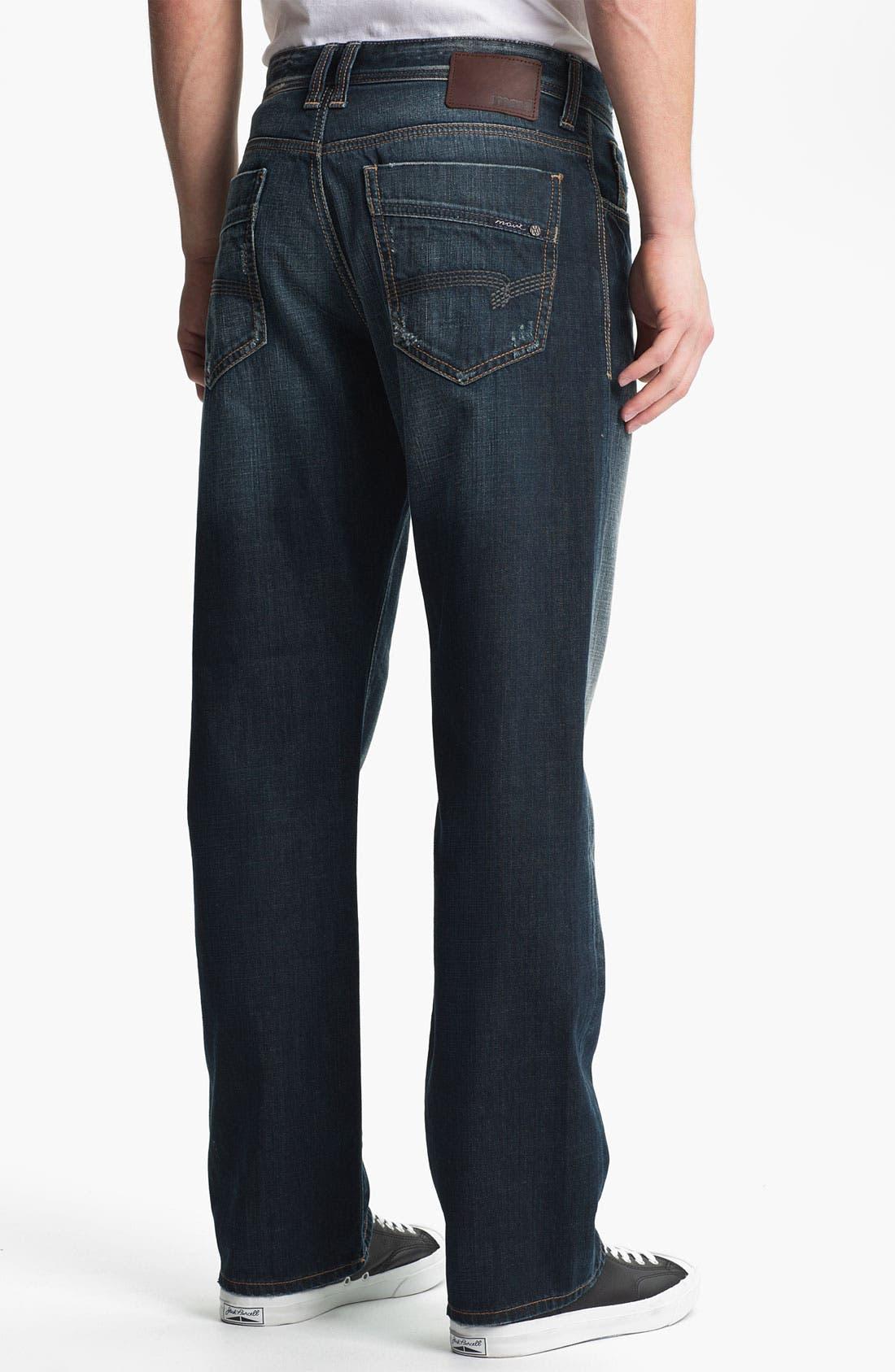 Alternate Image 1 Selected - Mavi Jeans 'Matt' Relaxed Straight Leg Jeans (Used American Vintage)