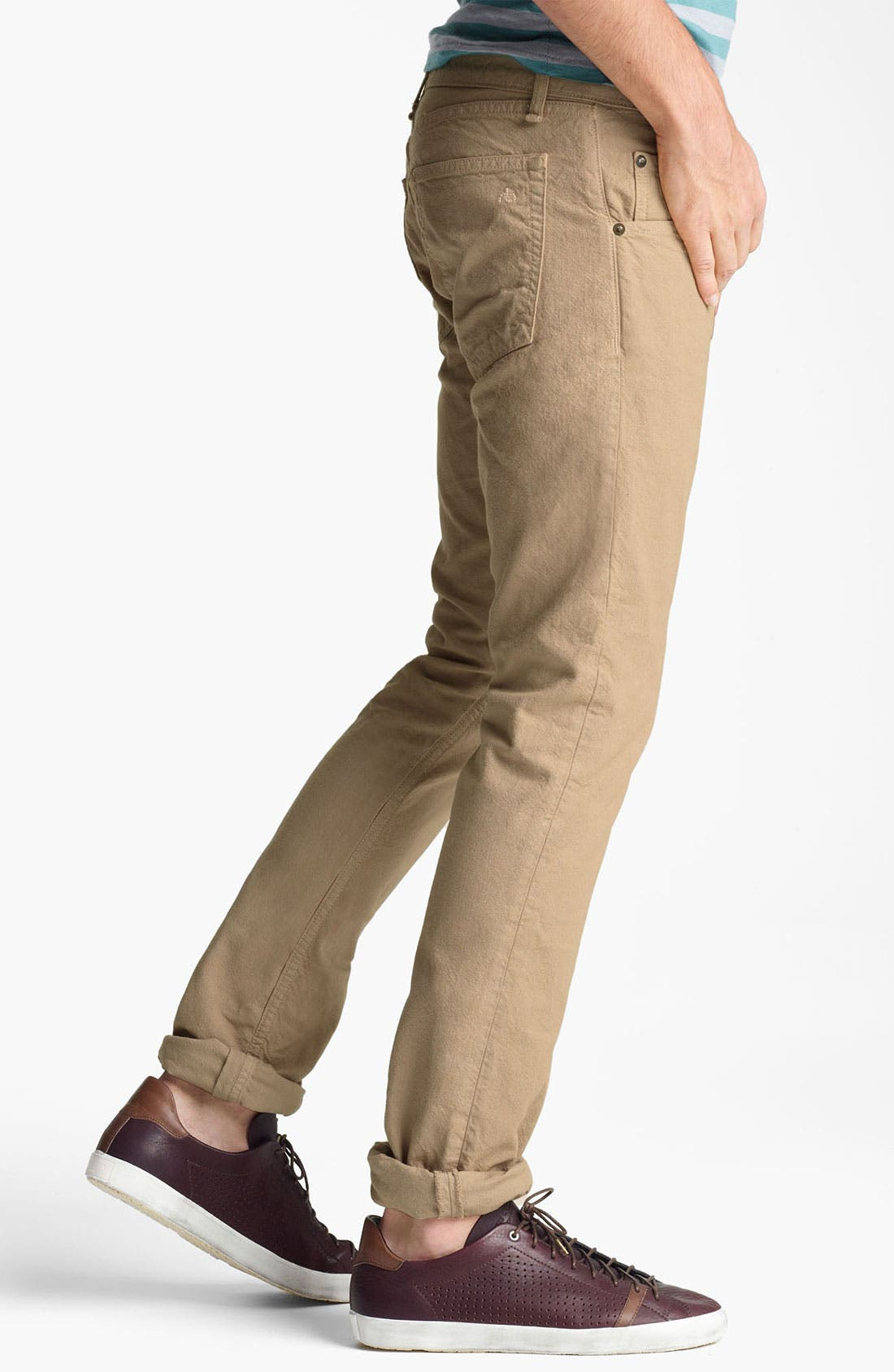 Alternate Image 3  - rag & bone 'RB15X' Cotton Chinos