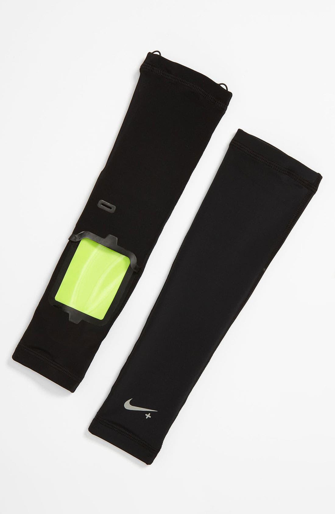 Alternate Image 1 Selected - Nike Long Sleeve Arm Warmers