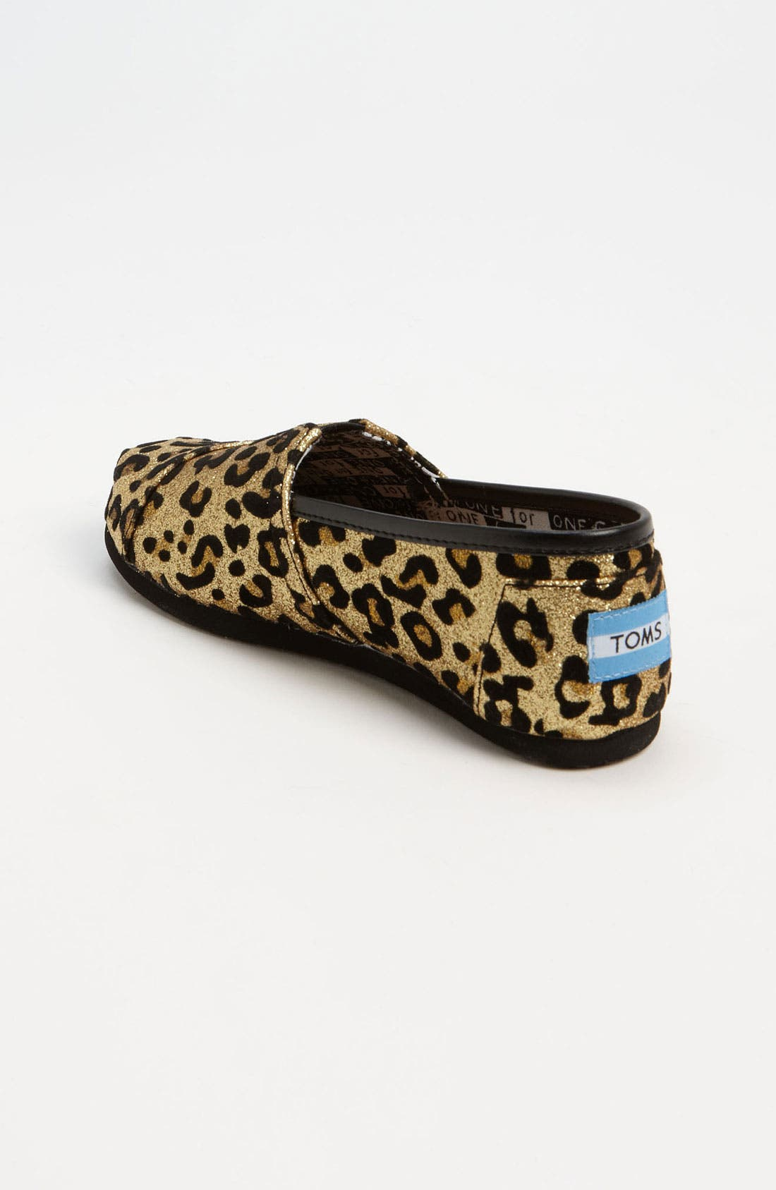 Alternate Image 2  - TOMS 'Classic Youth - Glitter' Print Slip-On (Toddler, Little Kid & Big Kid)(Nordstrom Exclusive)