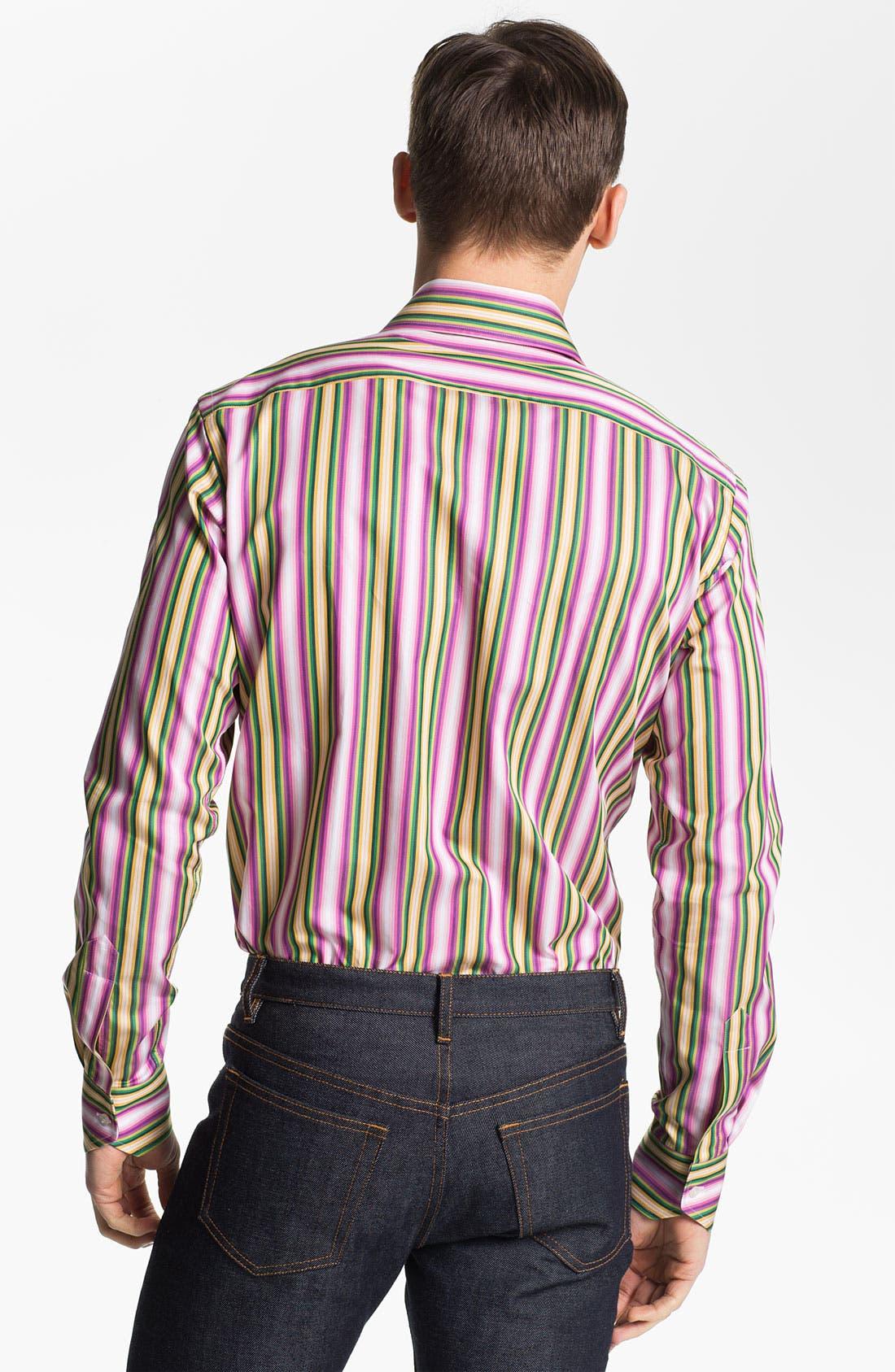 Alternate Image 2  - Etro Stripe Print Shirt