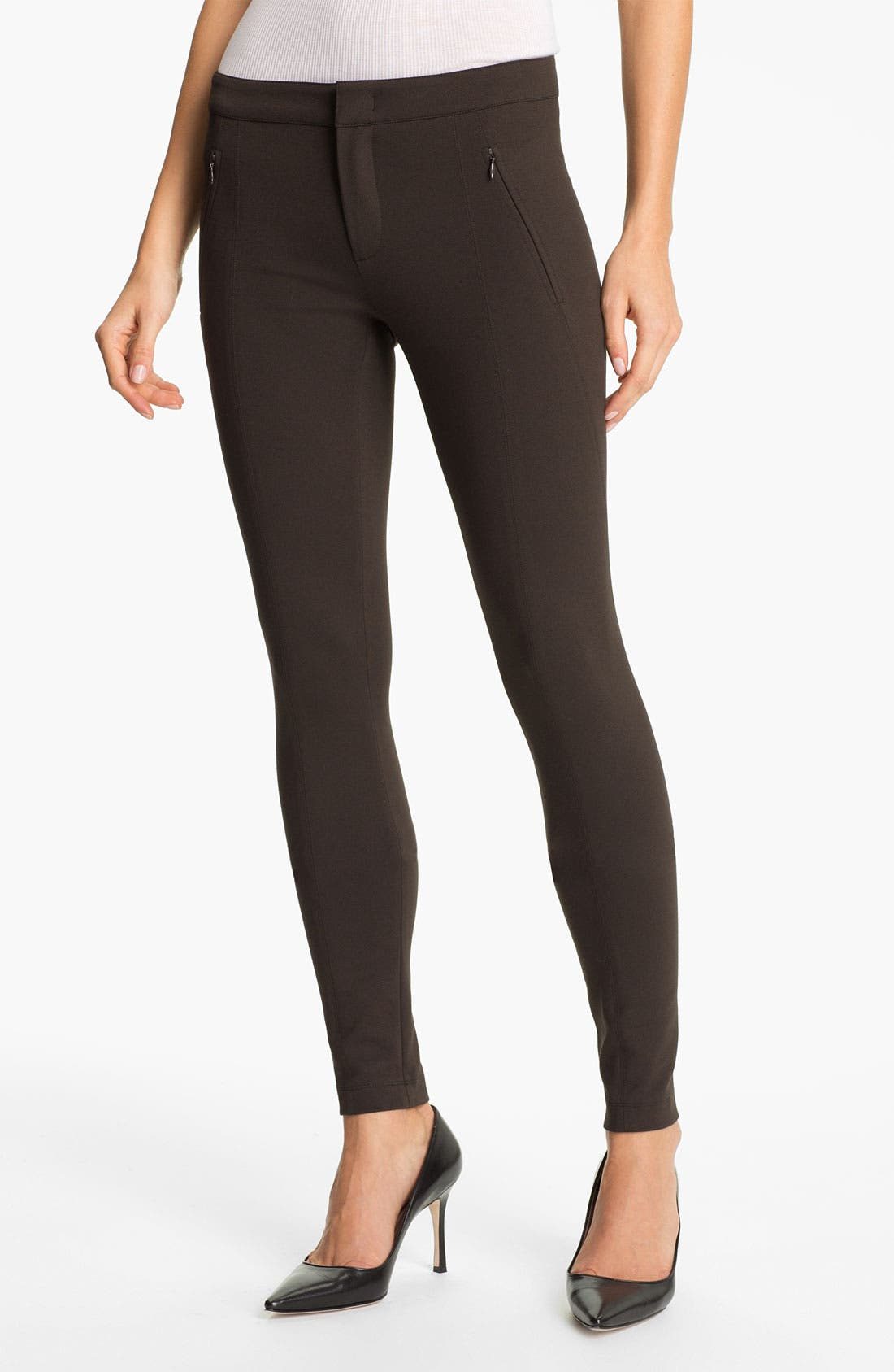 Main Image - Vince Skinny Leg Riding Pants