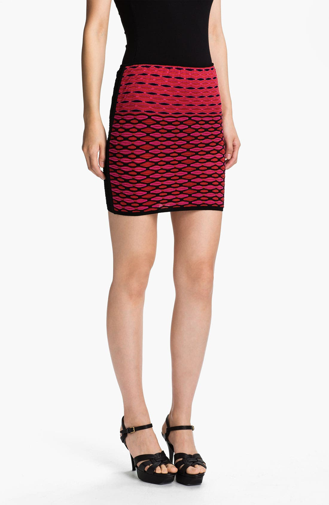 Main Image - M Missoni Diamond Stripe Tube Skirt