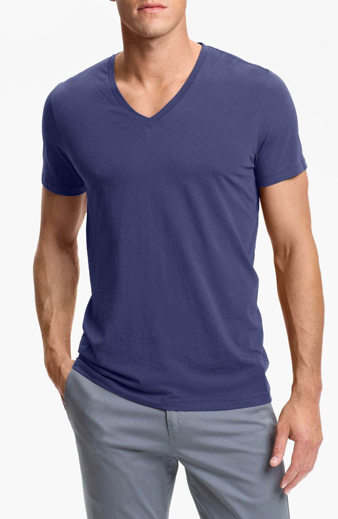 Main Image - Theory 'Bedros' V-Neck T-Shirt