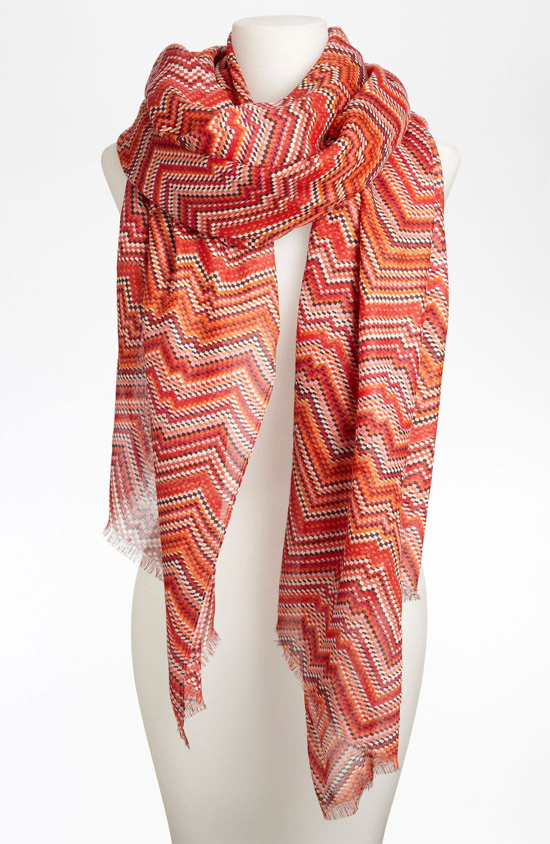 Main Image - Lulla Collection by Bindya 'Laurel' Zigzag Scarf