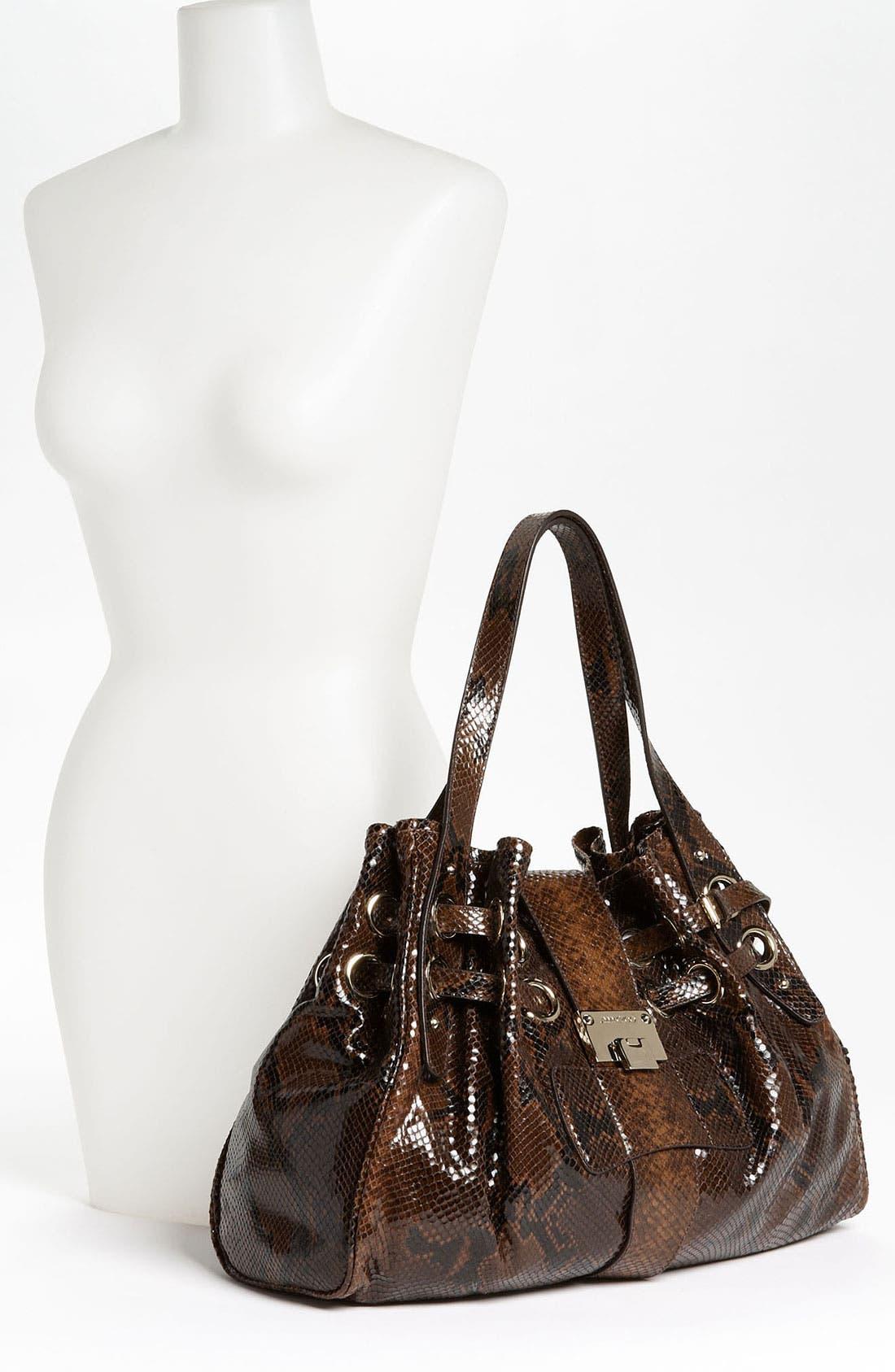 Alternate Image 2  - Jimmy Choo 'Ramona' Snake Embossed Leather Shopper, Large