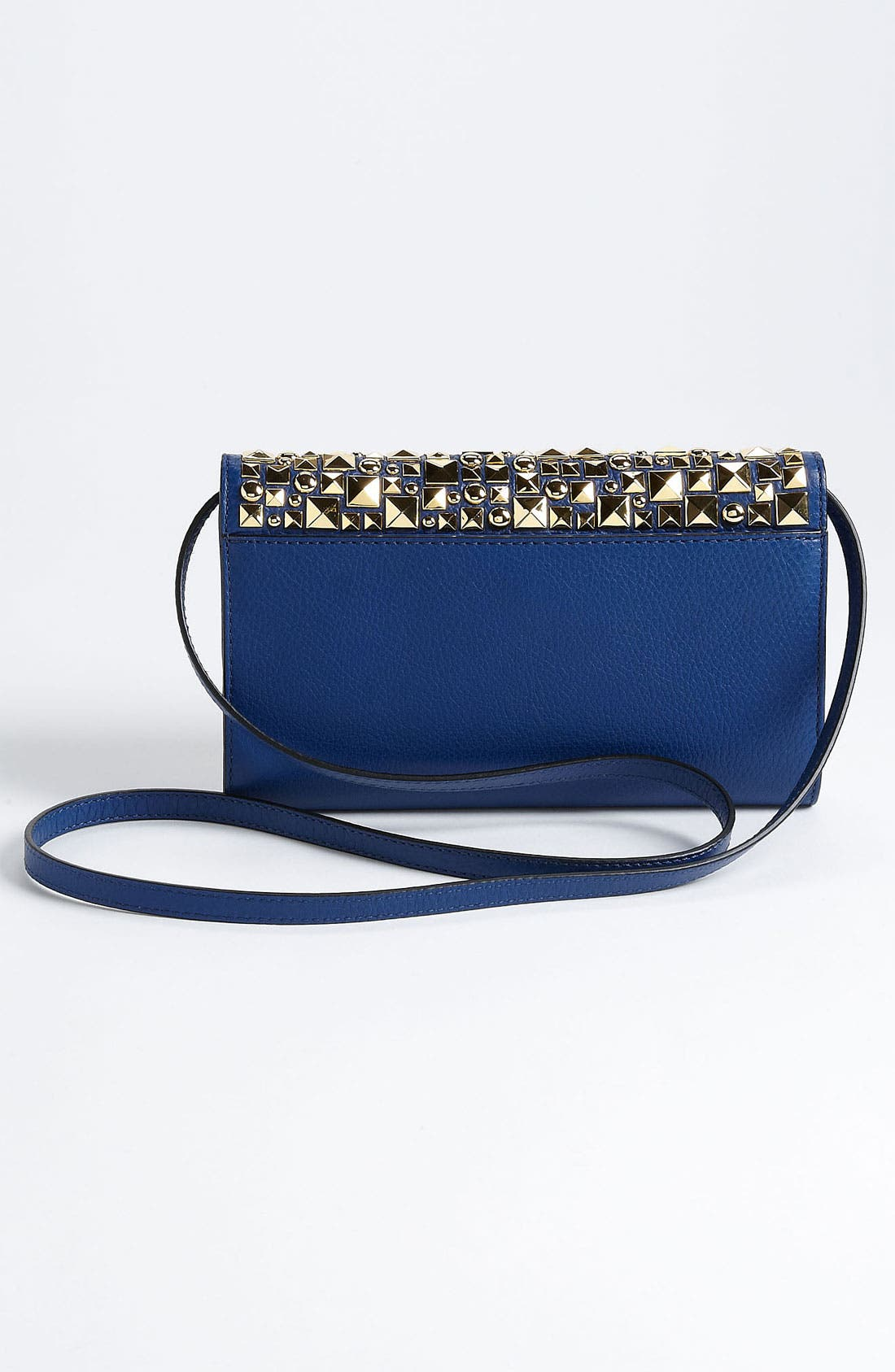 Alternate Image 4  - Michael Kors 'Gia' Studded Leather Clutch